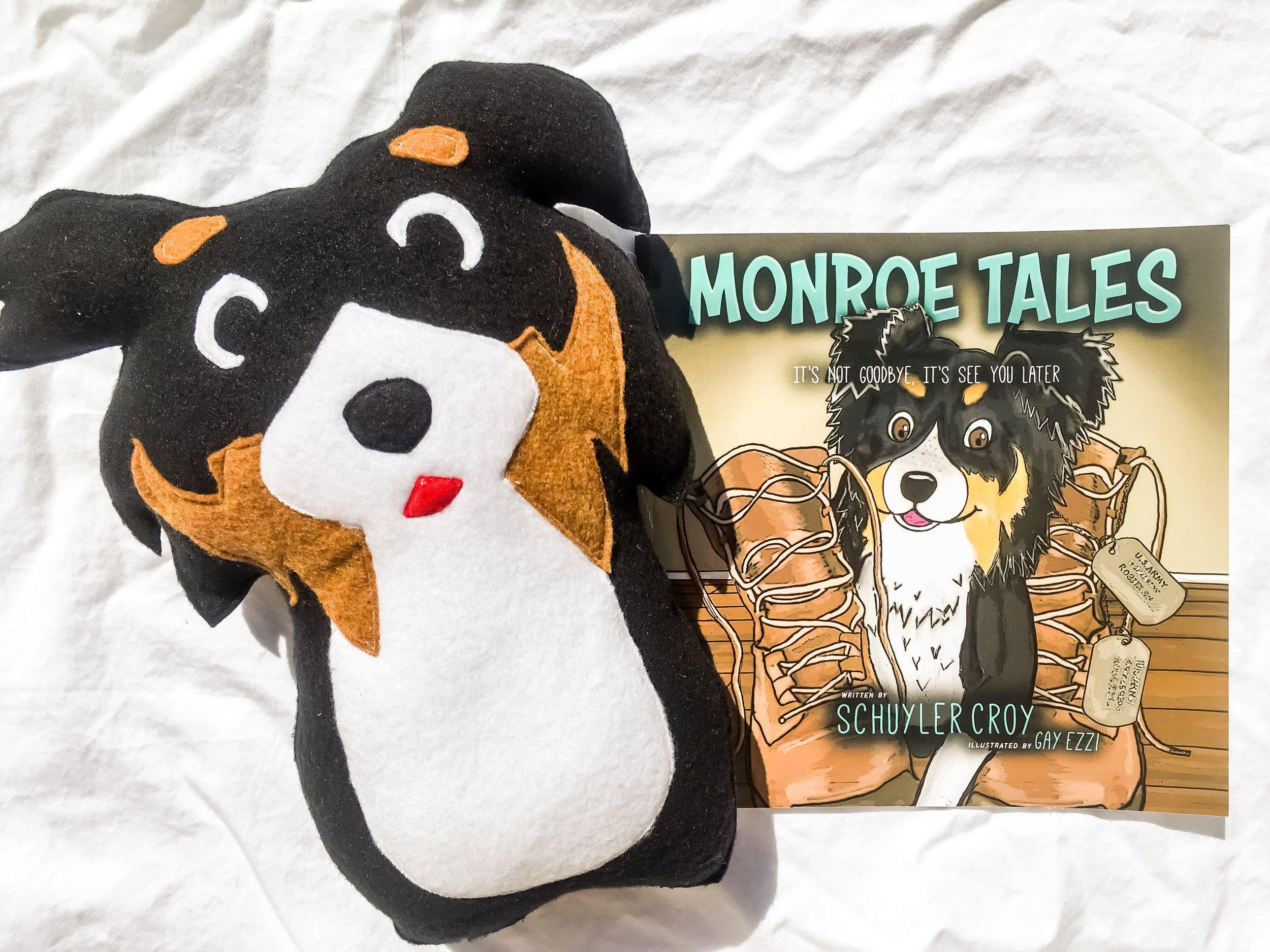 - Monroe's first story - Monroe Tales: It's Not Goodbye, It's See You Later is ready for you to read! Want to check it out?