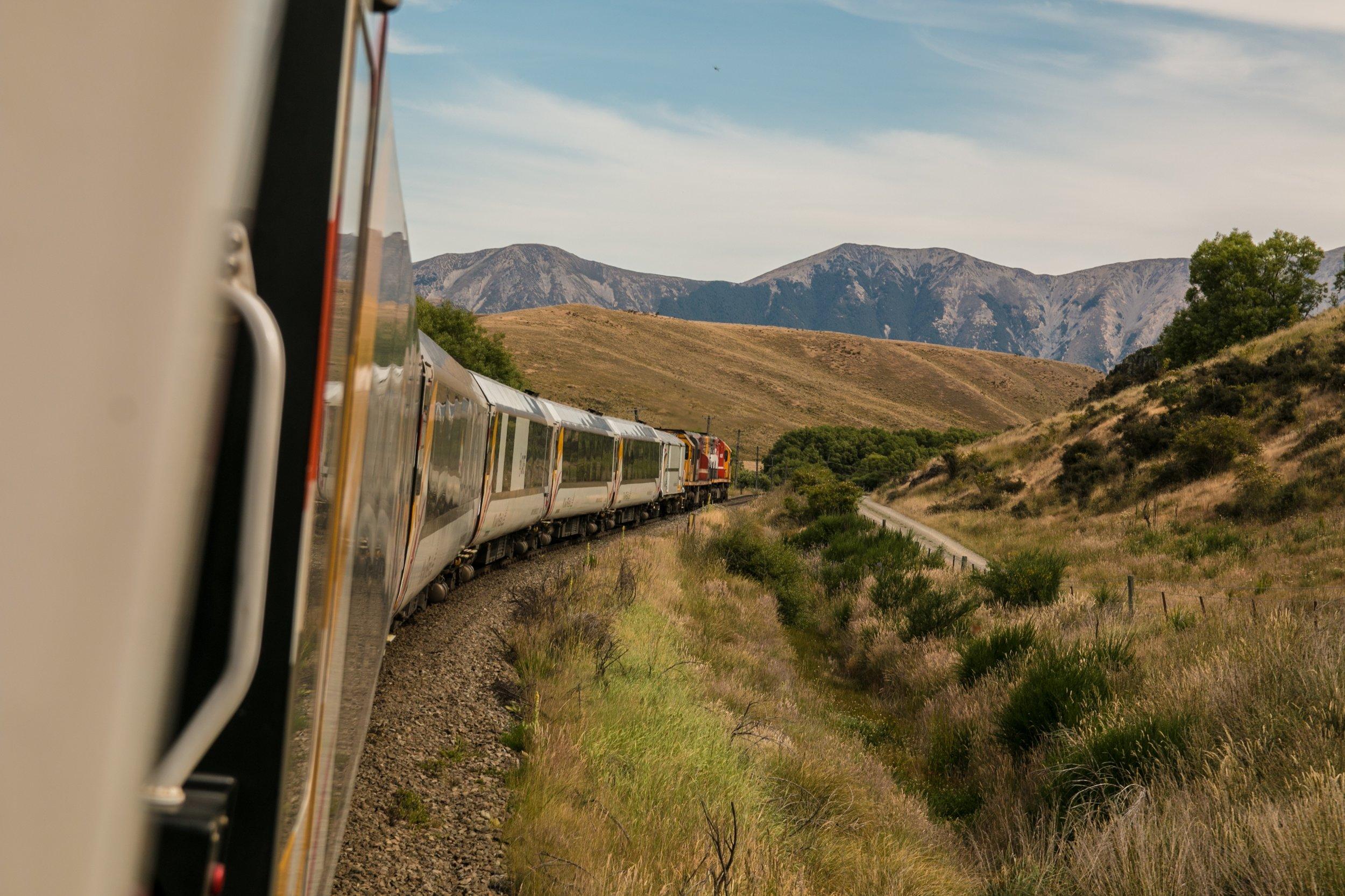 Train:a beautiful, low carbon adventure -