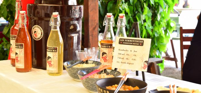 Los Fermentistas - Artisanal food and drinks with a fermented twist! Come to the Botica and learn everyting about it on Saturday afternoon.