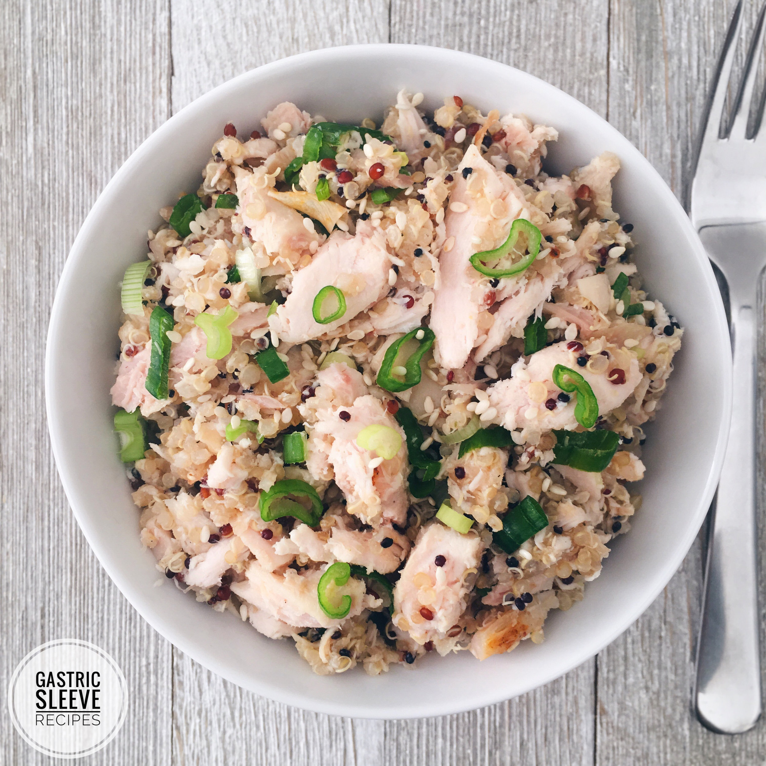 Rotisserie Chicken & Quinoa Bowl -
