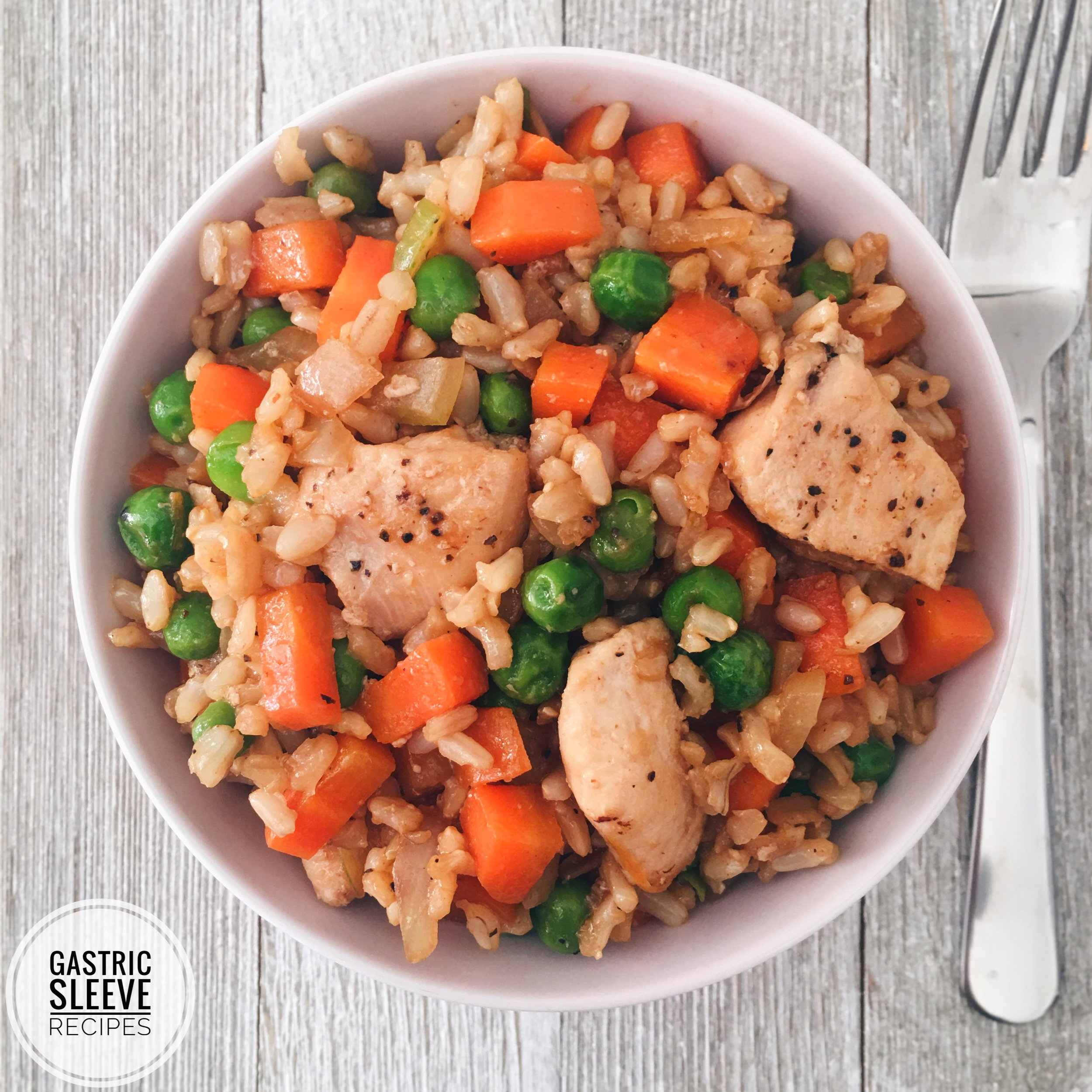 Healthy Chicken Fried Rice -