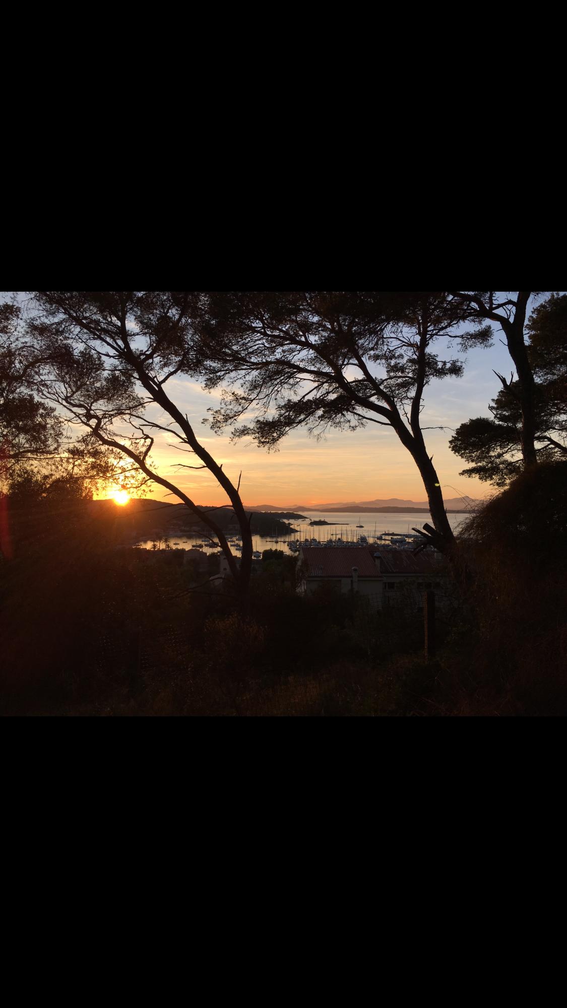 L'île de Porquerolles - photo mouche cousue