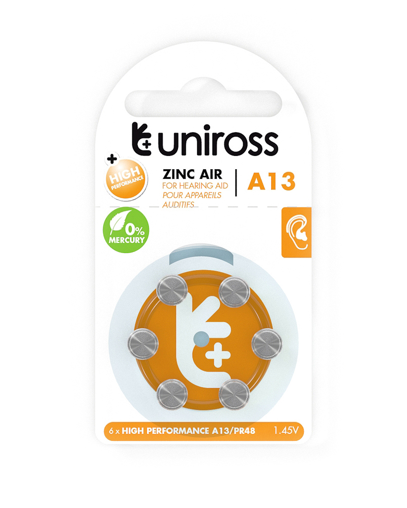 [UZA6A13] UNIROSS PACK 6 X A13 ZINC AIR.jpg
