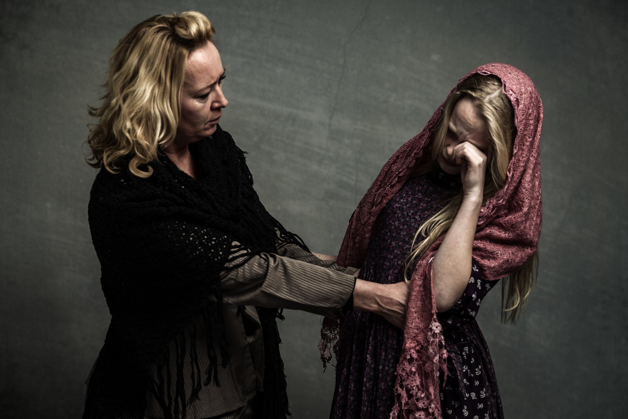 Lévesloop Mimi met moeder