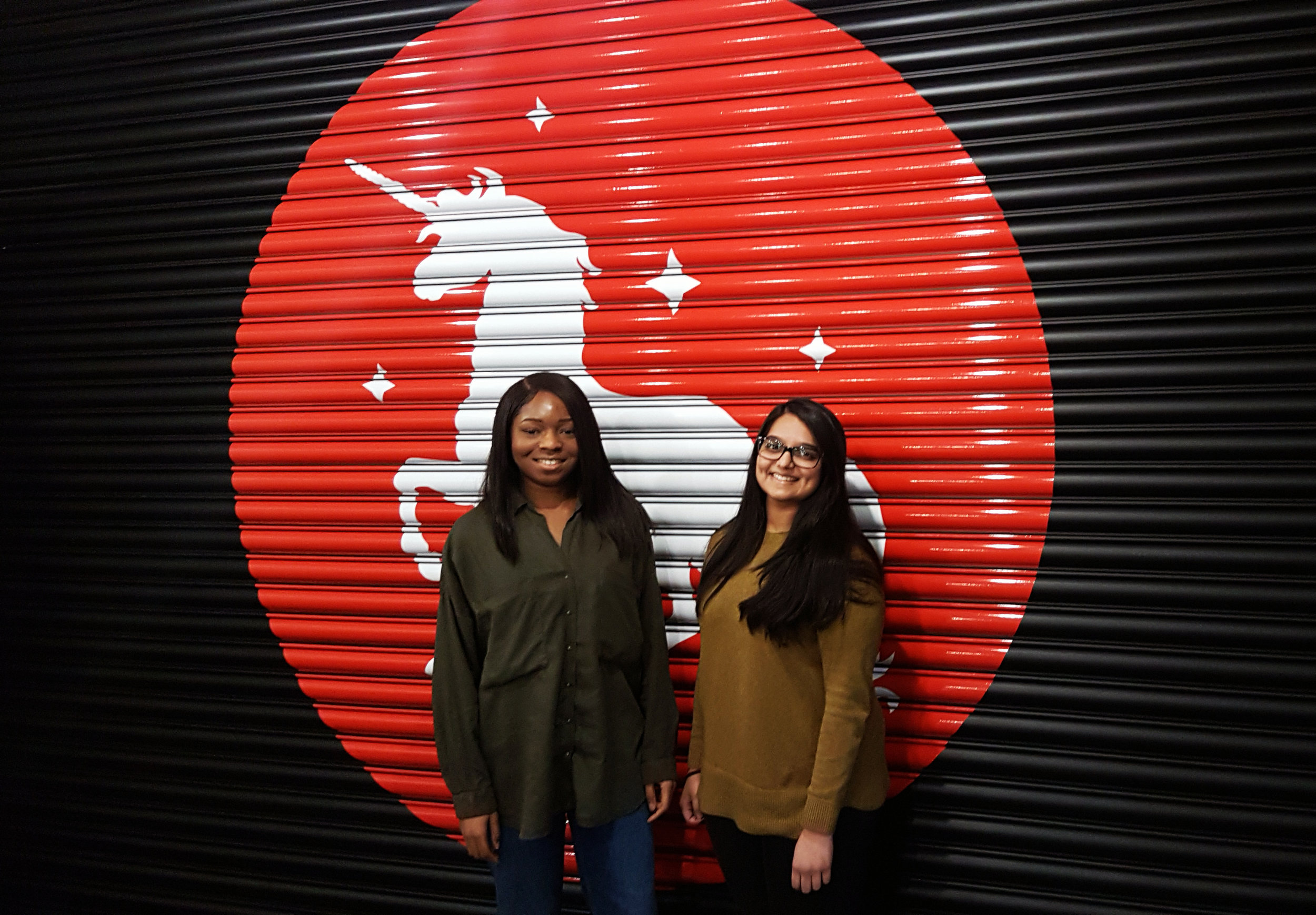 #32 Gayatri & Melody - Gayatri & Melody are a creative team on the Jolt academy, a diversity scheme which will give them a foot into 10 different agencies over 80 weeks. They've already completed placements at Proximity London, and Digitas and are now at Pablo. Gayatri graduated with a degree in Graphic Design at the University of Hertfordshire, and Melody studied International Relations. The pair have bags of enthusiasm and would be a welcome asset to any creative department.Twitter: @GayatriB_GDIWebsite:http://gayatribhudia.com/