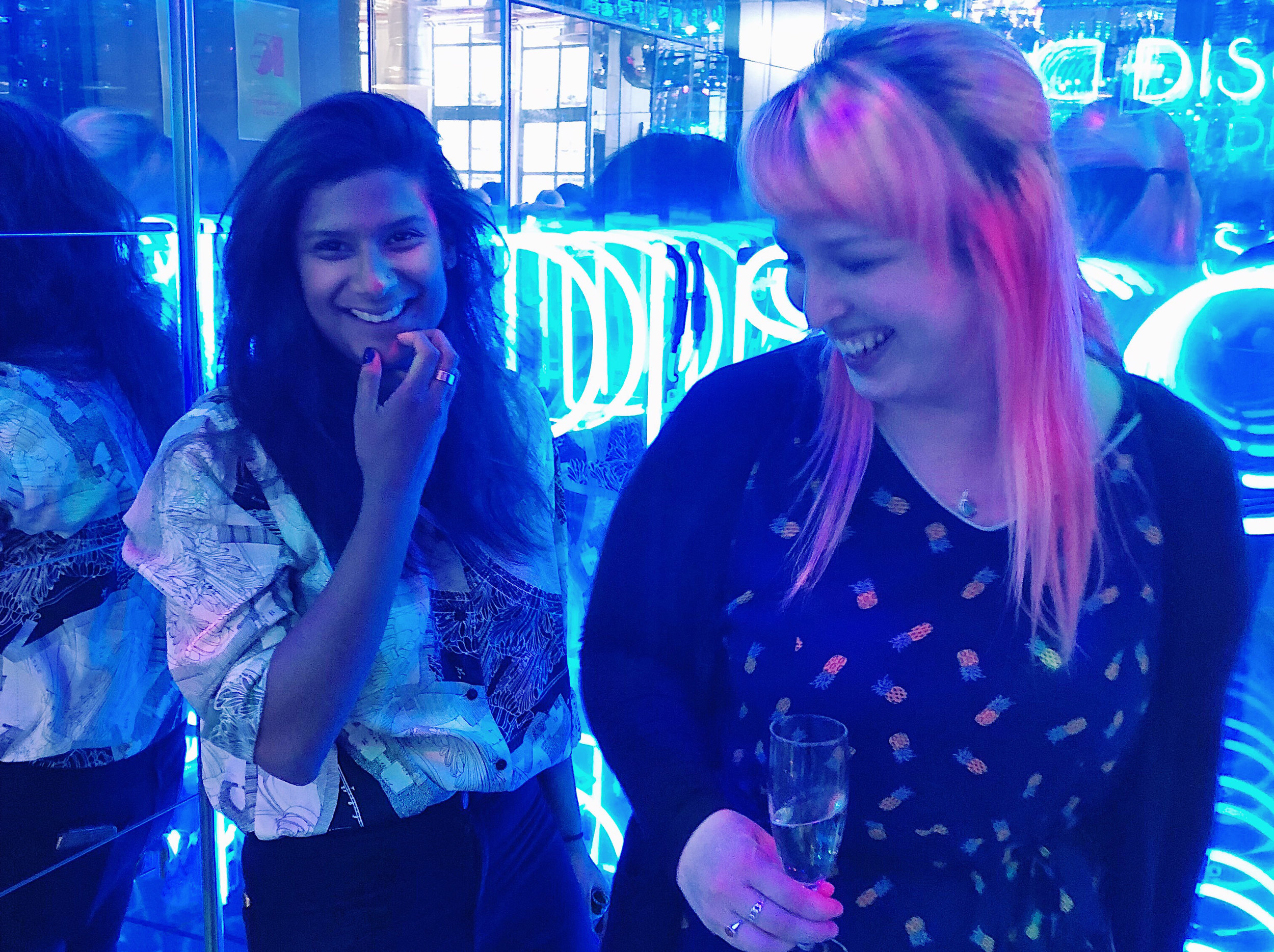 "#106 Charlotte & Lucy - Lucy & Charlotte are a Senior Creative Team at Wunderman UK who have brought unrelenting energy to ad agencies in five different cities across the world, flogging booze, fast food, computers, pet food and more — and they fight tirelessly to represent the under represented, which can be seen in their work with United Airlines, Cailler Chocolate, and Creative Equals.They're passionate about leading the way for the next generation through their roles in the YCC over the past 6 years, and are ever-present faces mentoring and leading talks at New Blood, WPP Stella, and universities across the country.They bring the mantra ""if you're not having fun, you're not doing it right"" into every piece of work, every side project, and every event they host. It's contagious.Links:How Advertising Industry Fails WomenCreative Politics 2WebsiteCharlotte's InstaLucy's Insta"