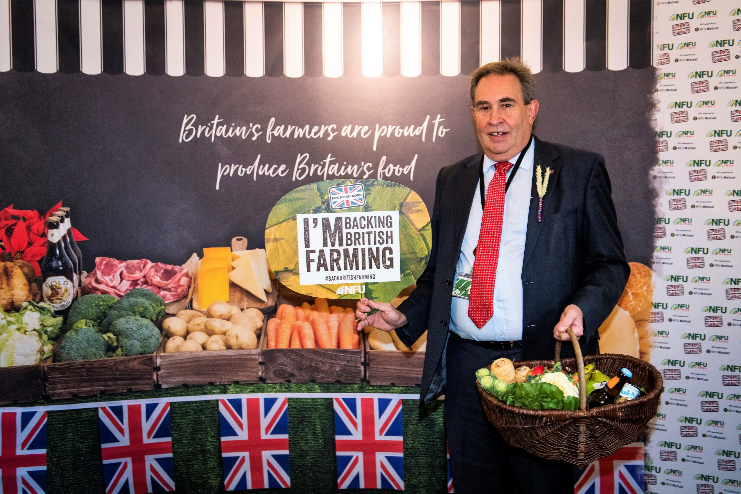 - Sadly today's parliamentary event to celebrate British farmers has been downscaled because parliament has been prorogued. But I'm still proud to support our farmers. Photo from 2018