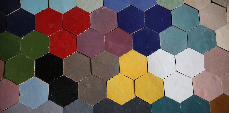 Zellige colors tiles