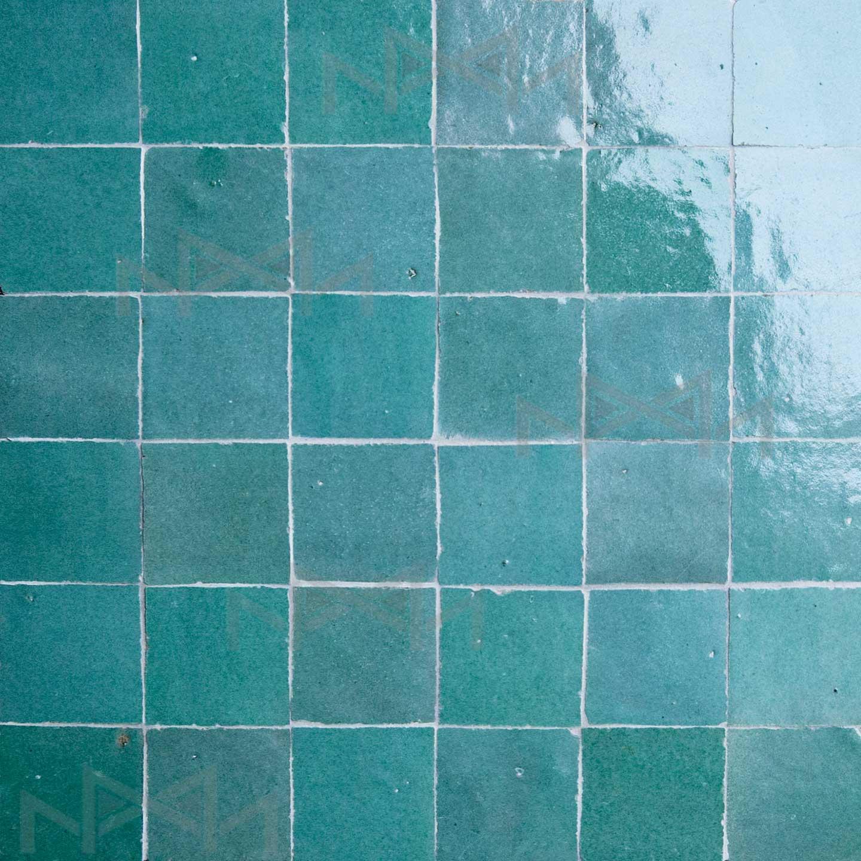 Moroccan zellige tiles colors