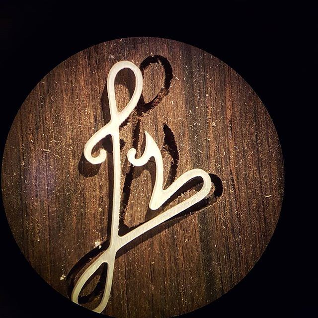 Microscope view of @rasmussenguitars logo in the making. #microscope #inlay #inlays #logo #luthier #luthiery #mrinlay