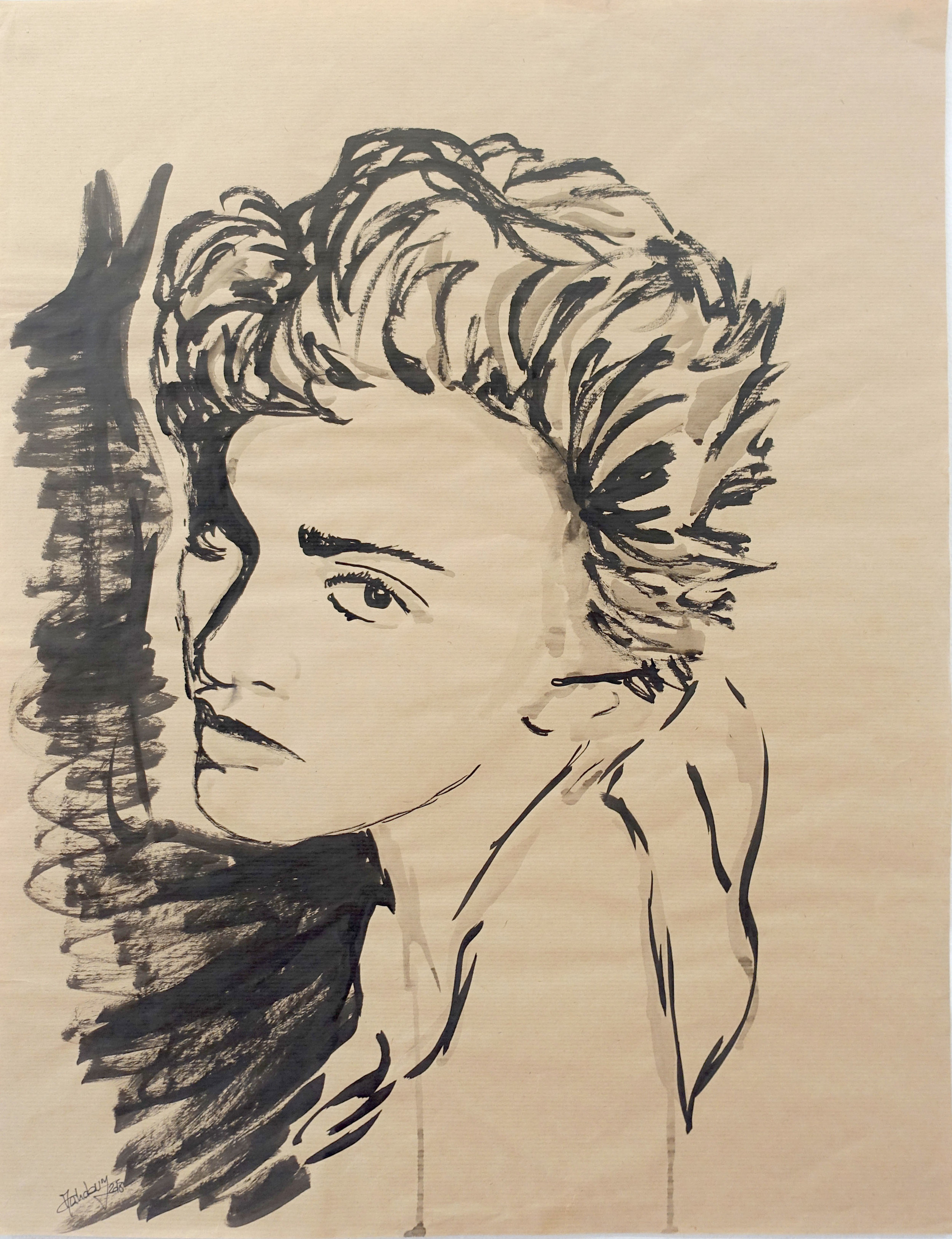 CHARLOTTE MAHDAVY_POP DRAWING MADONNA 2_0.jpg
