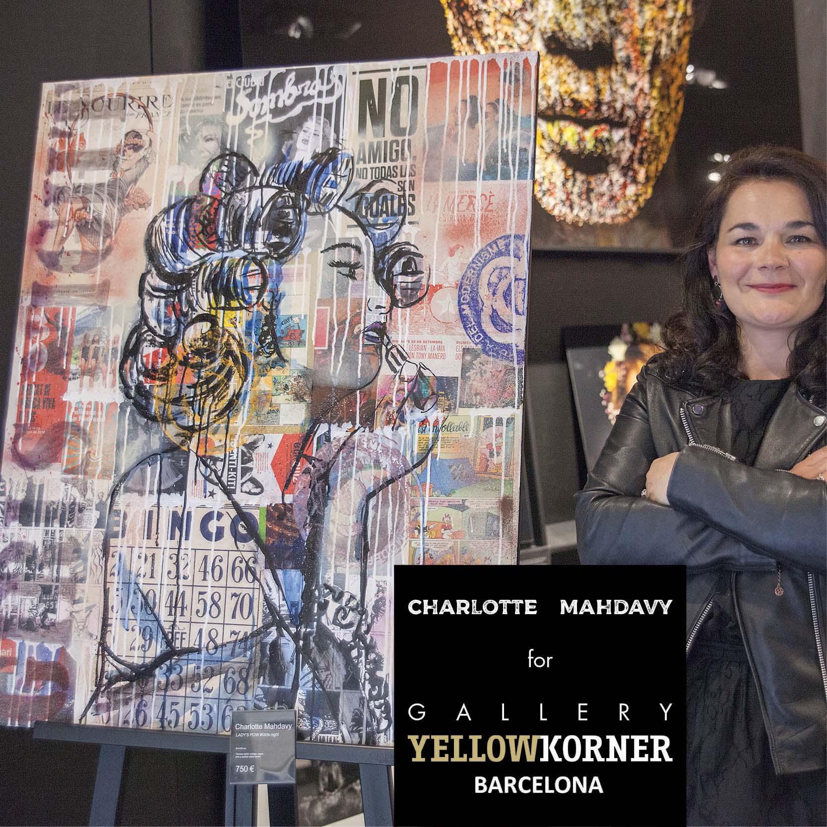 CHARLOTTE MAHDAVY YELLOW KORNER BARCELONE