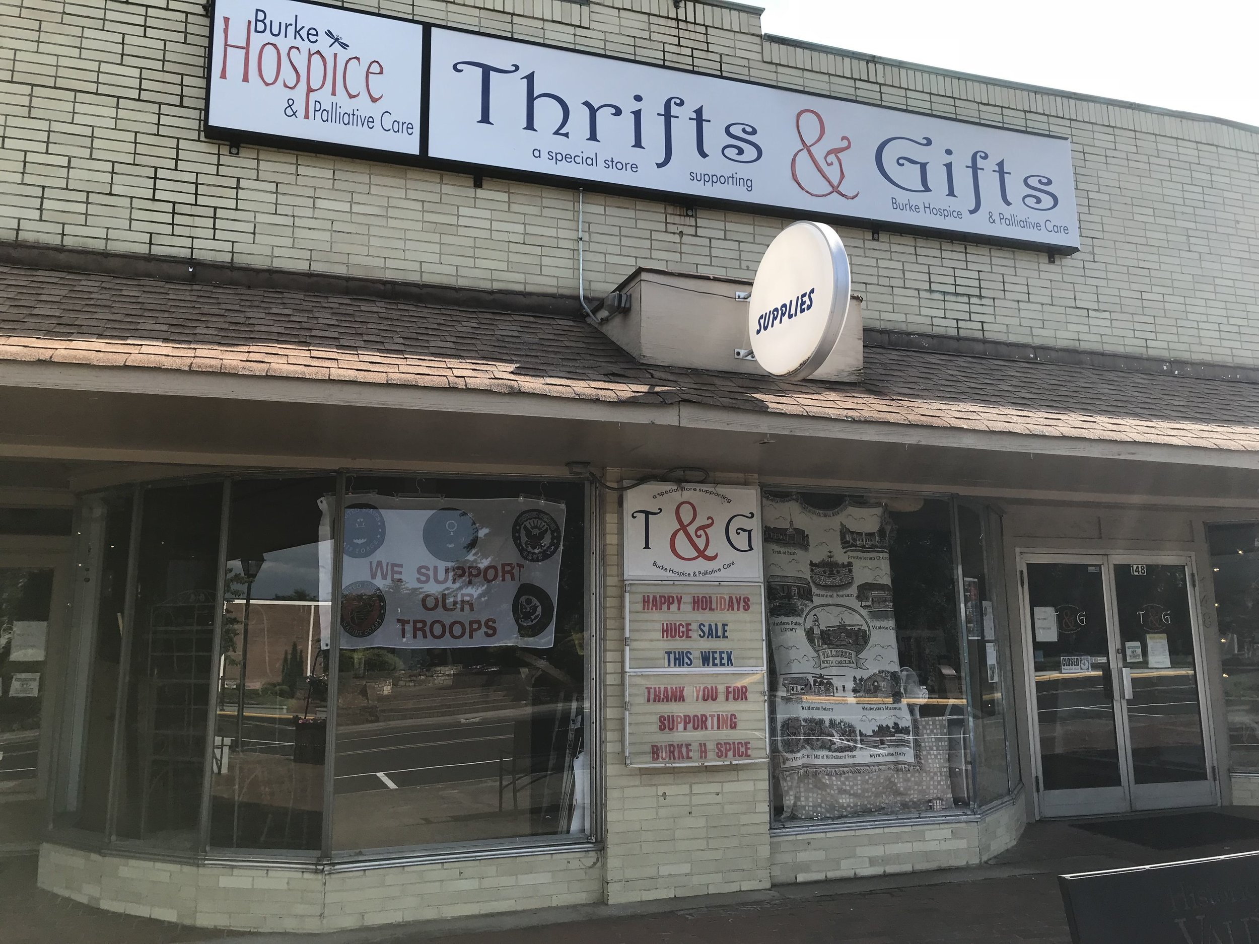 Burke Hospice Thrifts & Gifts - (828) 874-4483148 Main Street East, Valdese, NC 28690