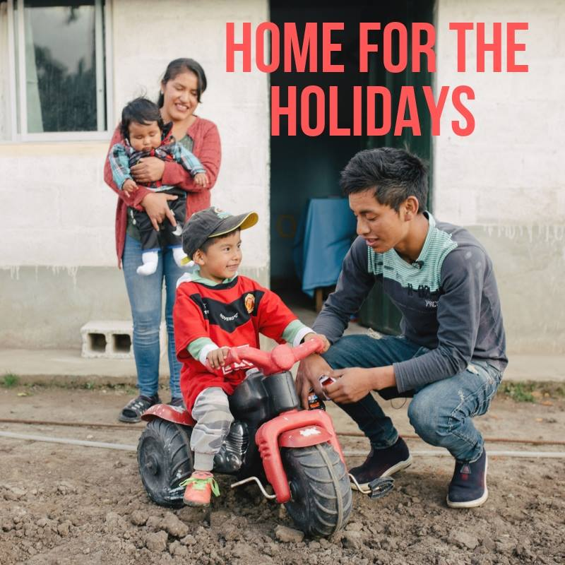 The Home for At Risk Children - The goal of our home for at risk children is reunification of children with their families and just before Christmas 6 children were able to go home to their families, just in time for Christmas!