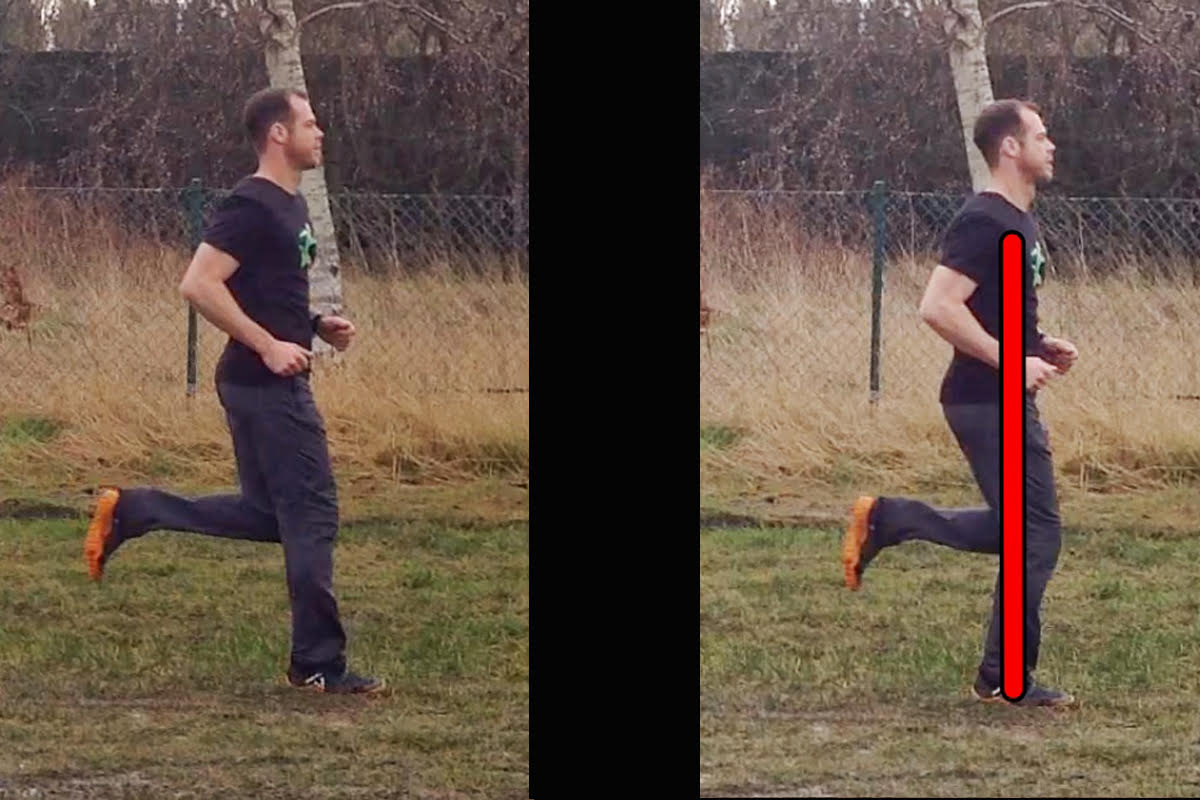3. Initial ground contact ('flat' landing) 4. Use your body like a spring.