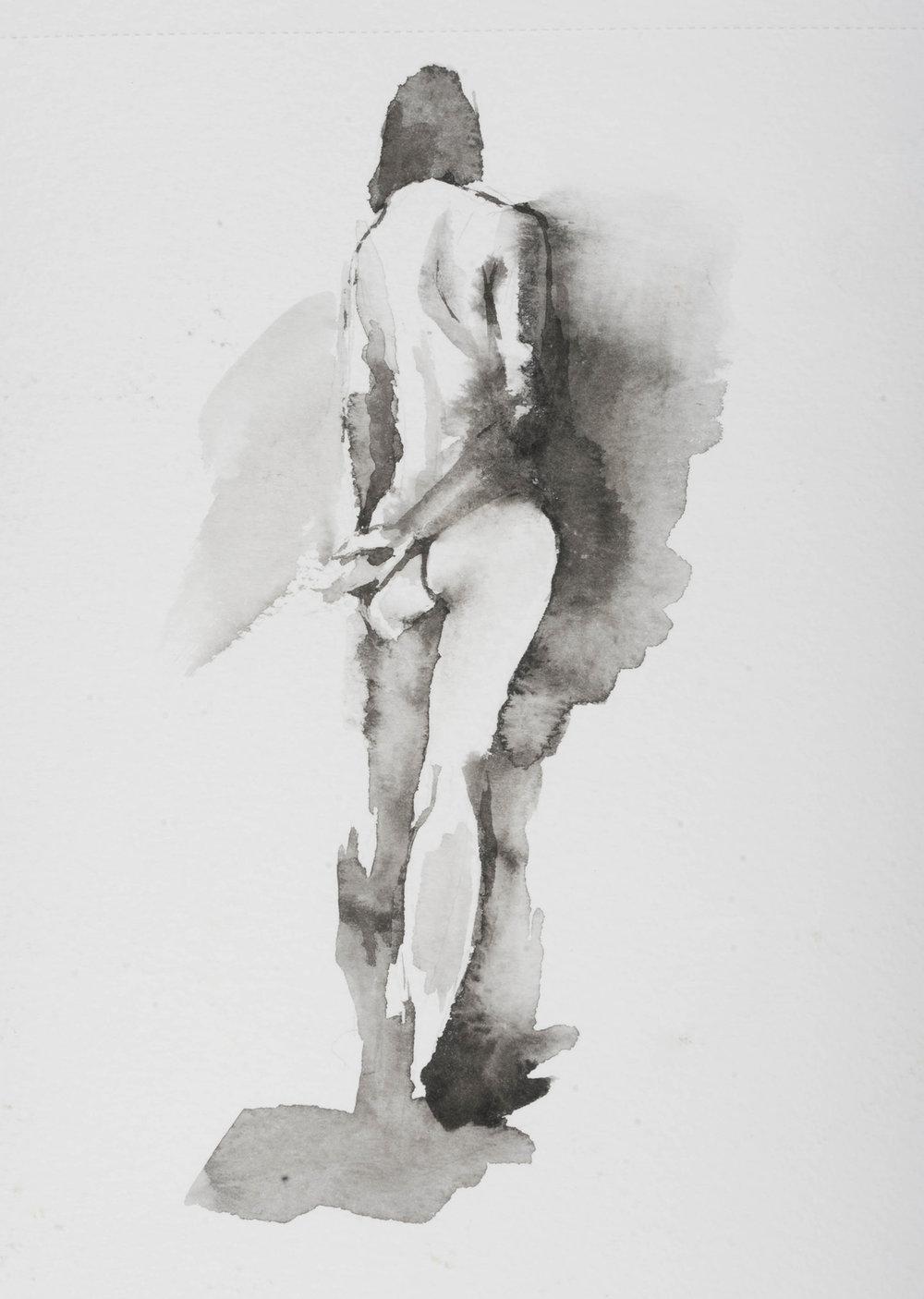 watercolor  10 min