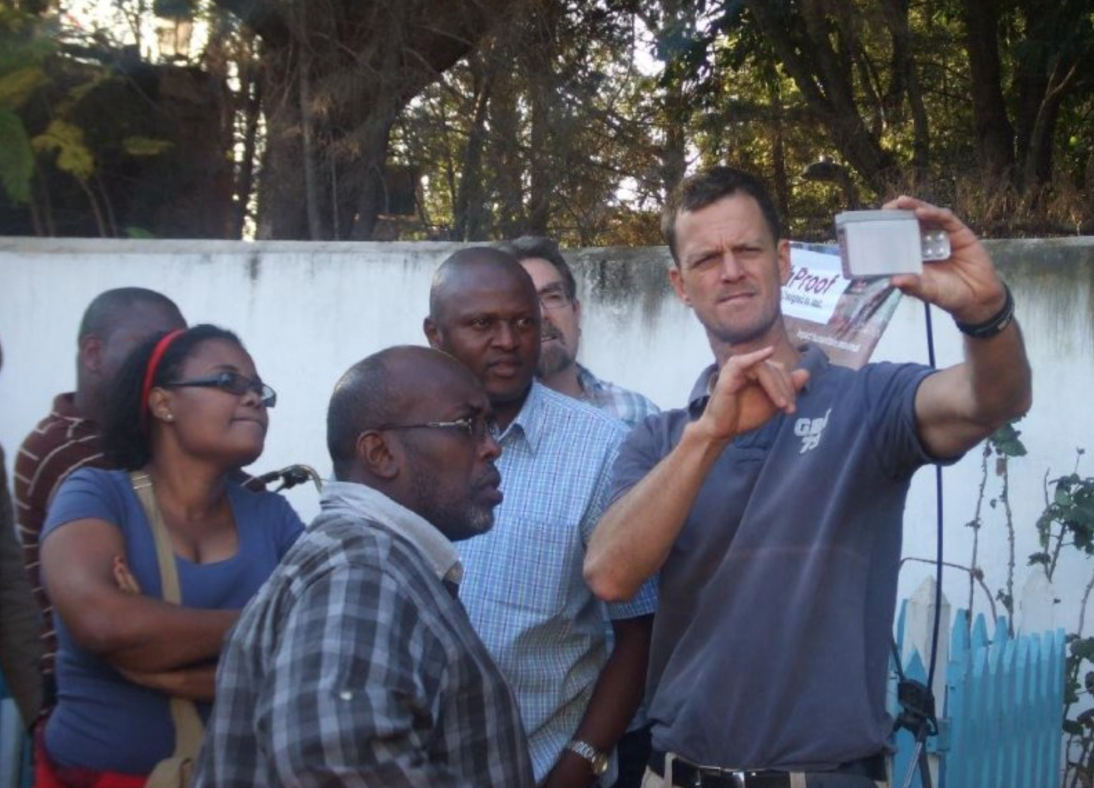 Eric Fewster hosting BushProof WASH training in Madagascar