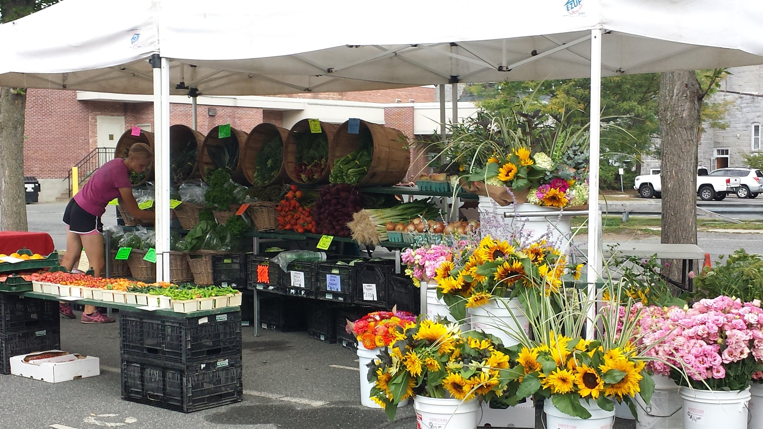 The Great Barrington Farmers' Market - 9-1pm Every Saturday, Mothers' Day through October18 Church Street, Great Barrington, MA, 01230