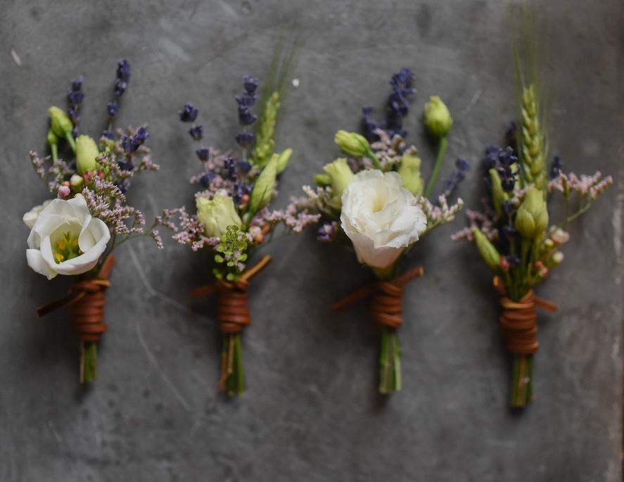 Boutonniere - $18.00/ea - Petite floral accent for gentlemen