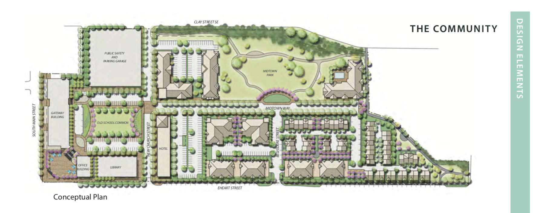 An image of the conceptual plan