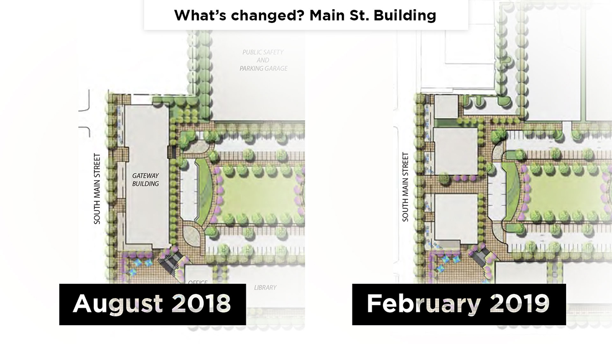 What's changed? Main St. Building