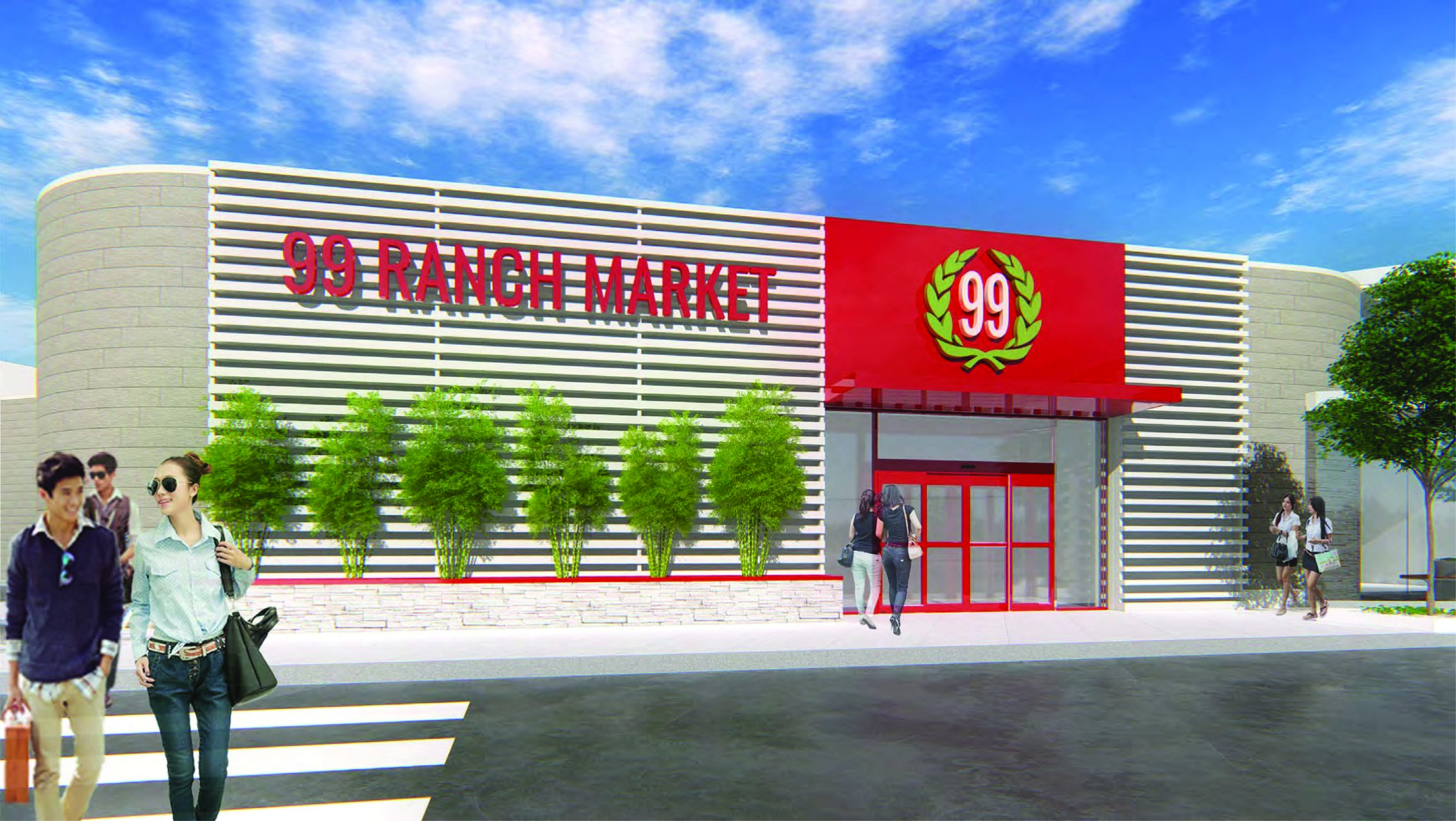Leading Asian supermarket 99 Ranch Market will anchor The Shops at Hilltop's expanded tenant collection.