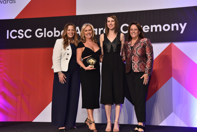 Strategy+Style Marketing Group Founding Partner and Chief Strategist Karen E. Fluharty and Chief Operating Officer Coleen R. Conklin Accept 2019 Gold Global MAXI Award