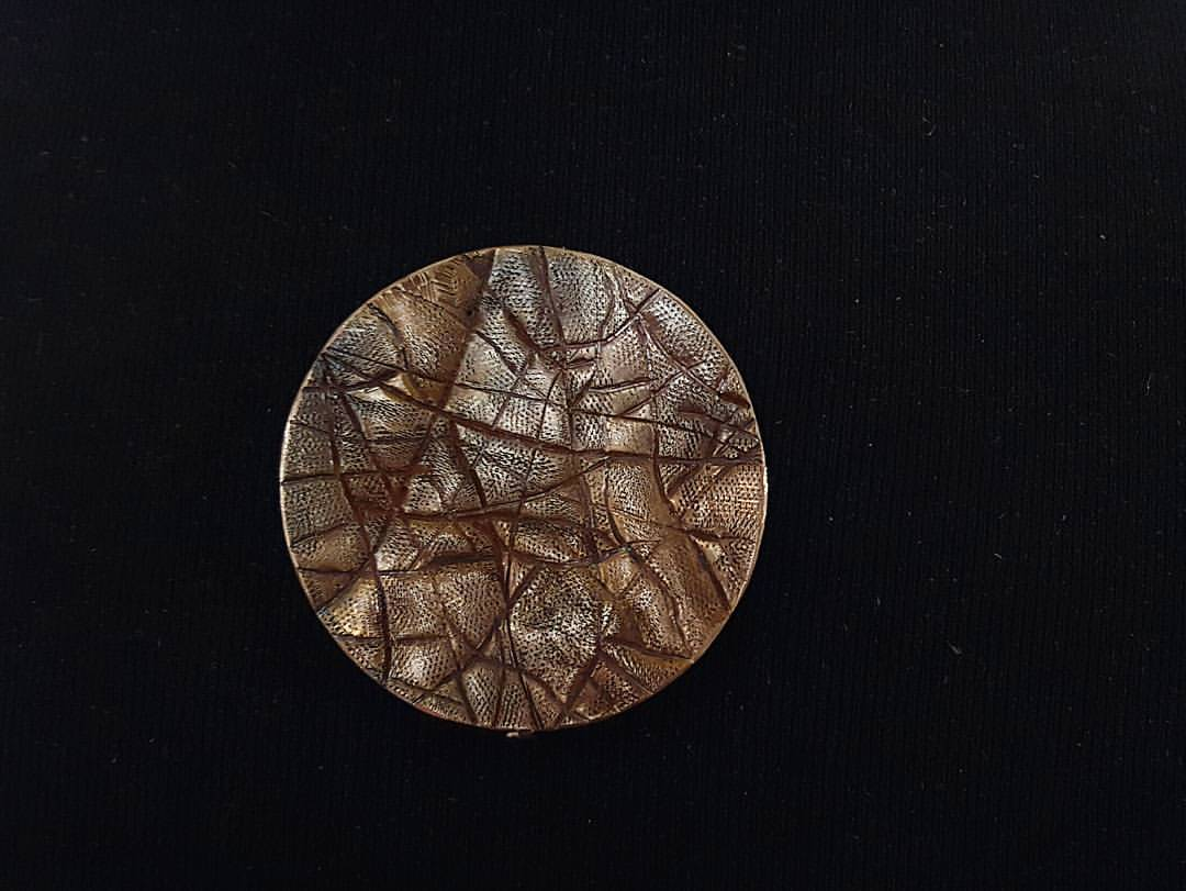 """Study of Brown Skin"" Brooch 