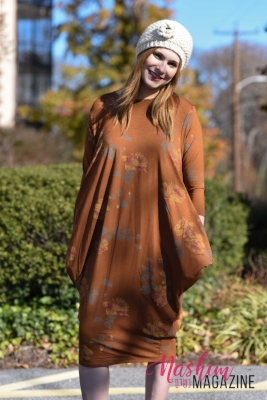 Boho Chic dress with pockets