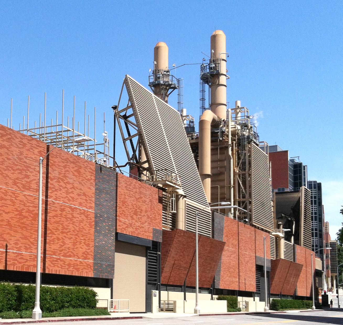 UCLA Cogeneration Chiller Facility