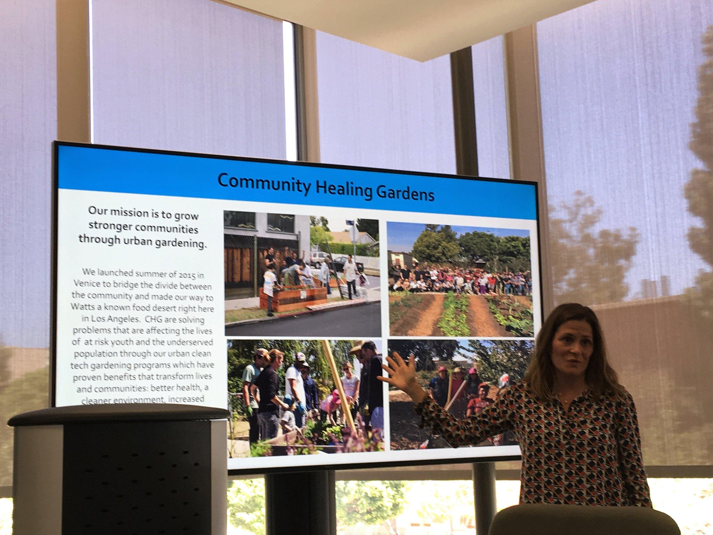 May 15, 2018: Nicole Landers from Watts Community Healing Gardens