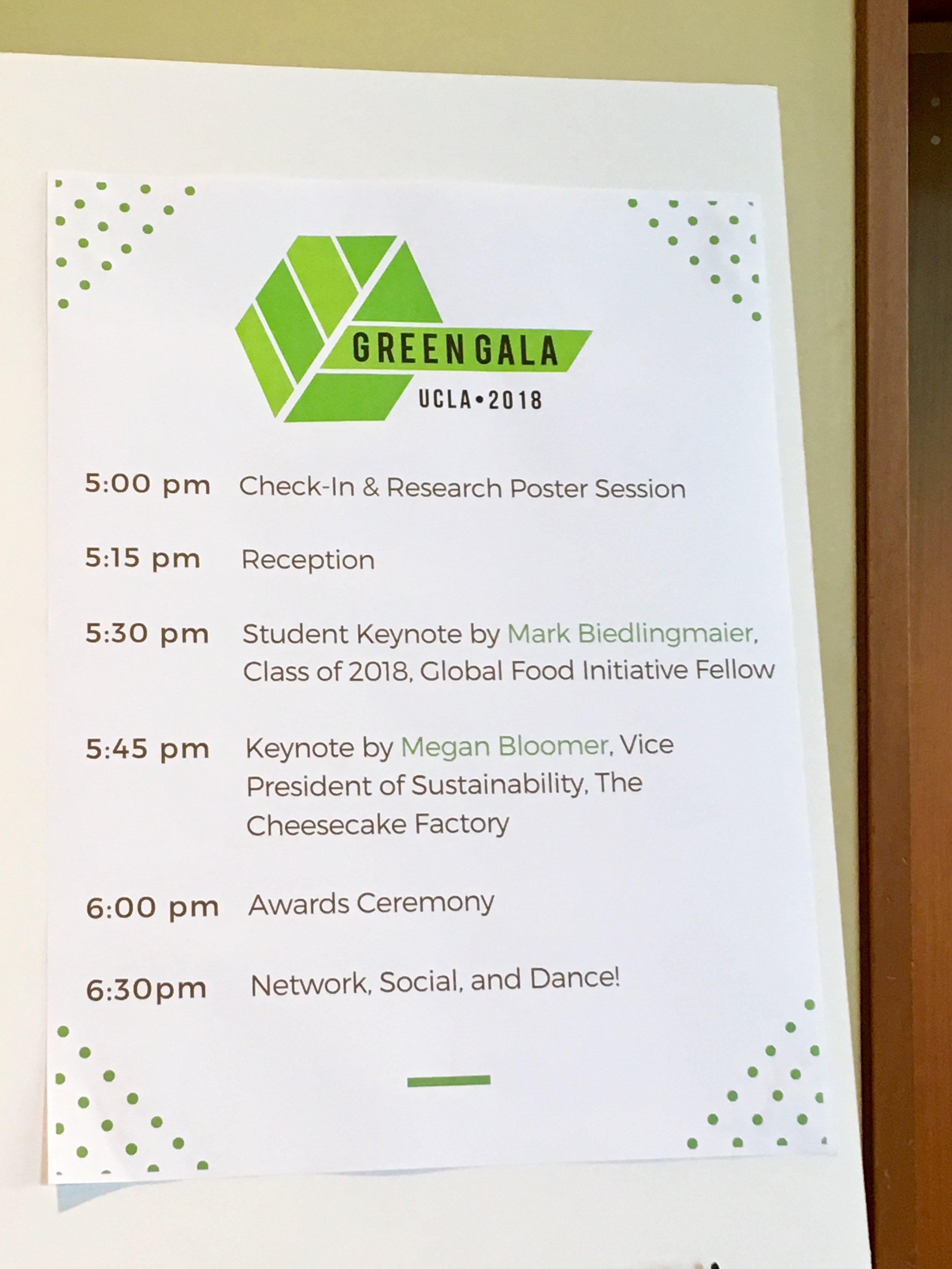 May 23, 2018: UCLA Green Gala