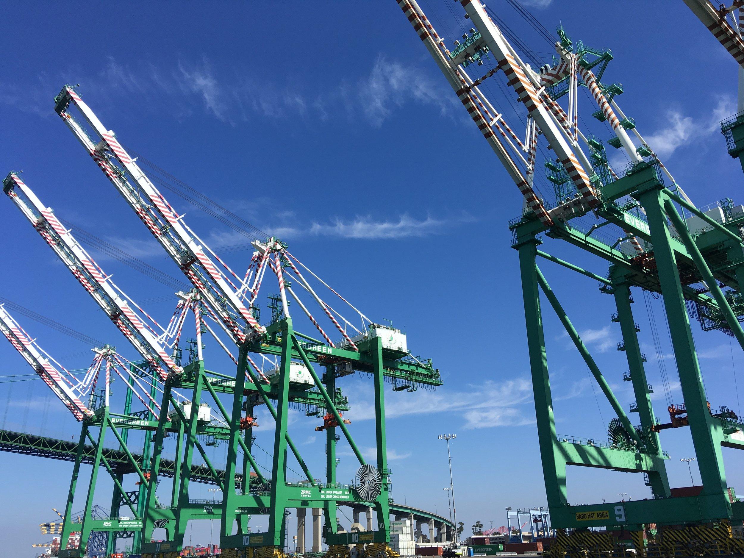 October 5, 2018: Field Lab Visit to Port of LA