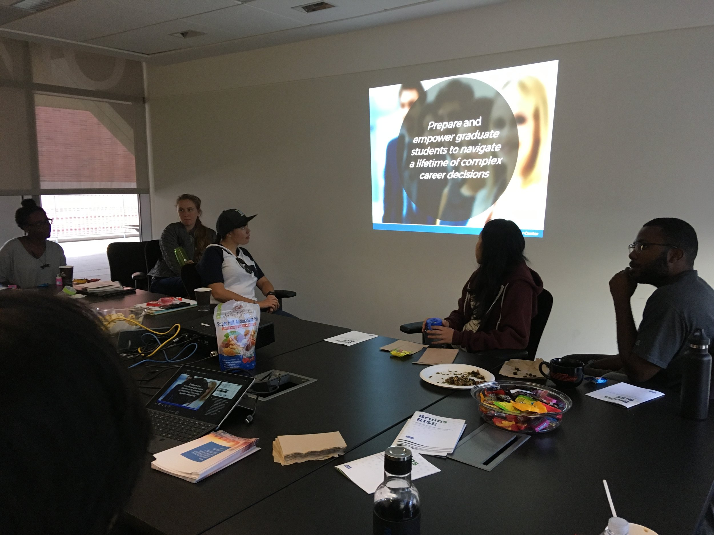 October 11, 2018: Brown Bag Seminar on UCLA Career Center Services