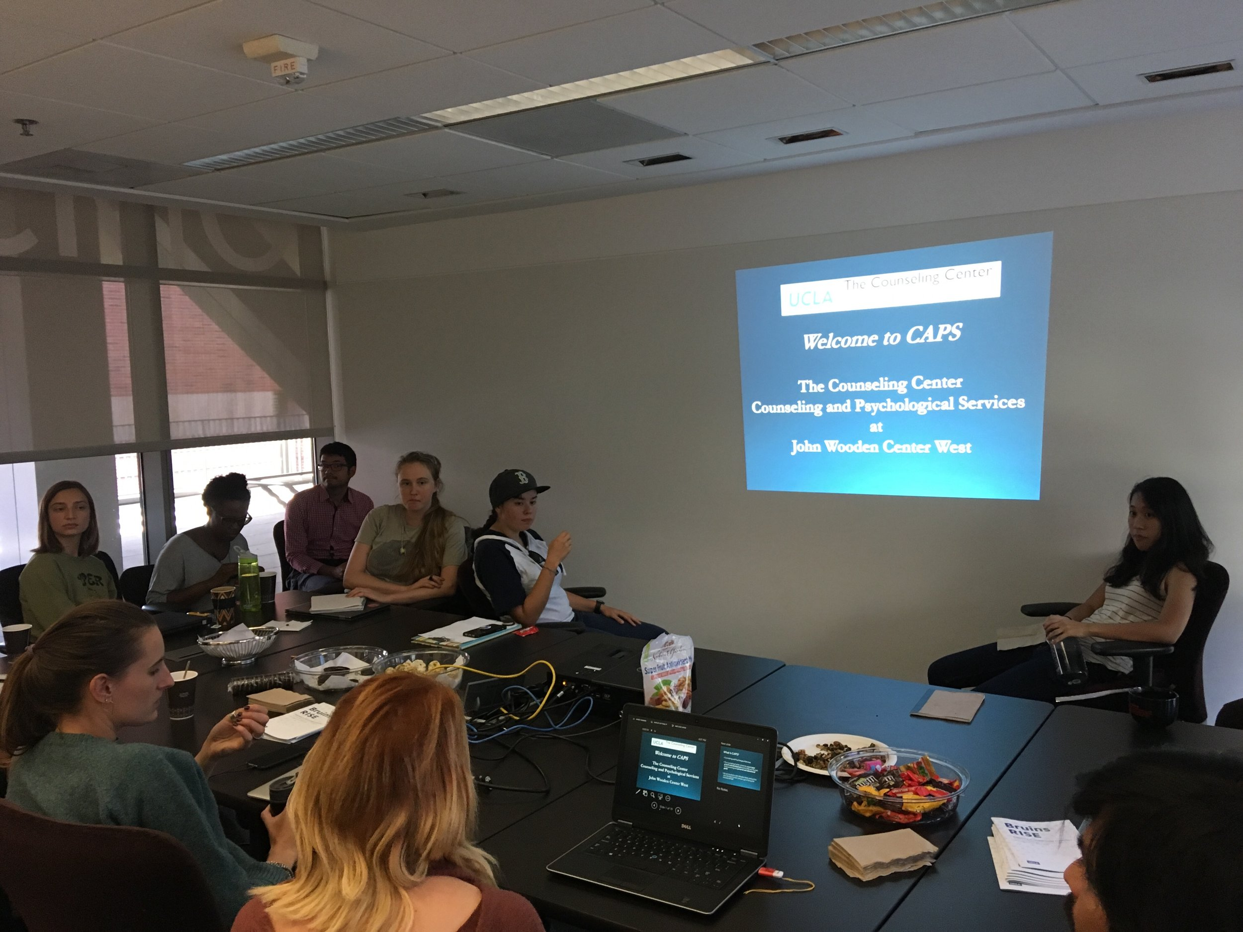 October 11, 2018: Brown Bag Seminar on UCLA Counseling and Psychological Services