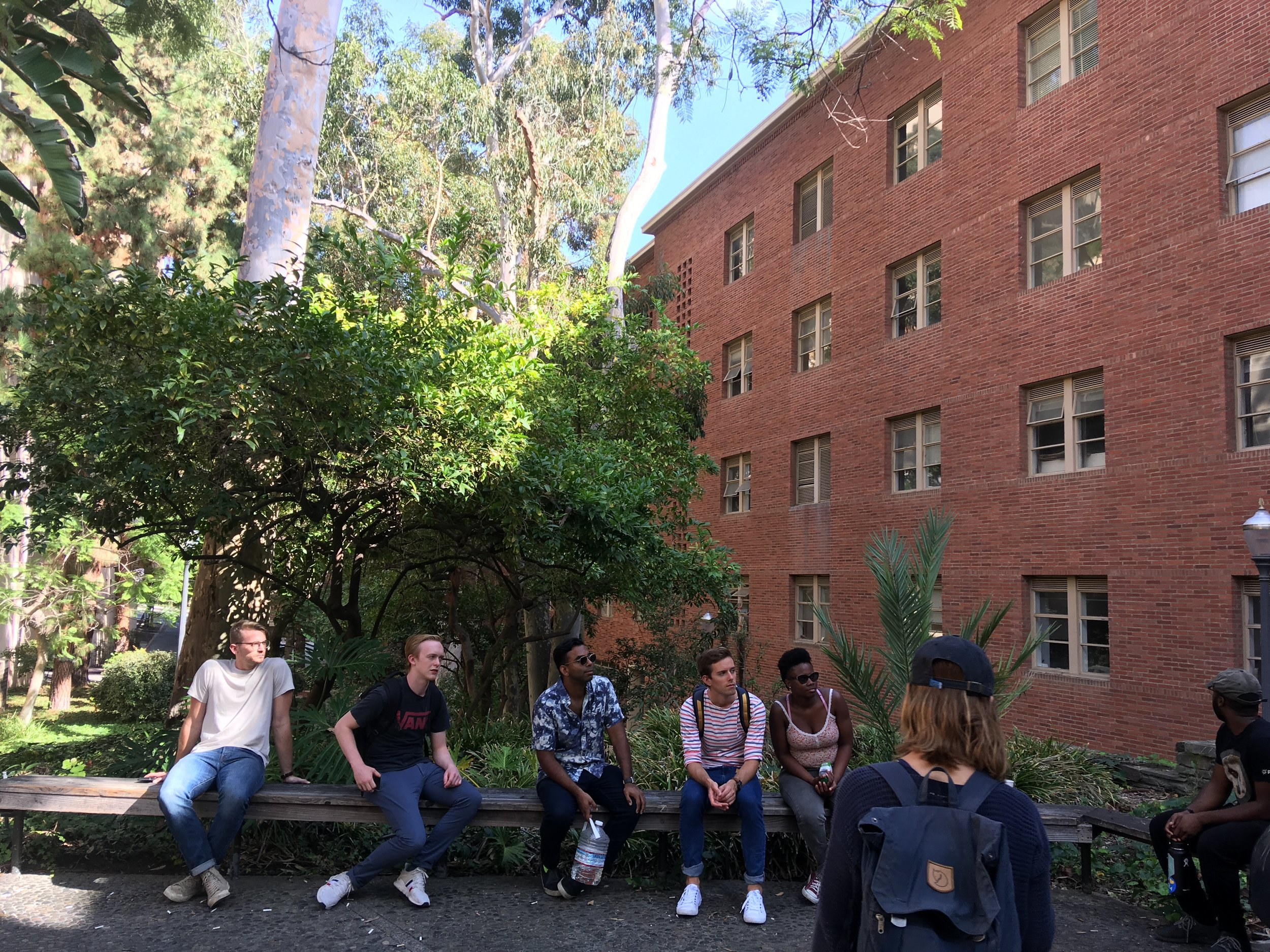 October 12, 2018: Field Lab visit of UCLA Sustainability
