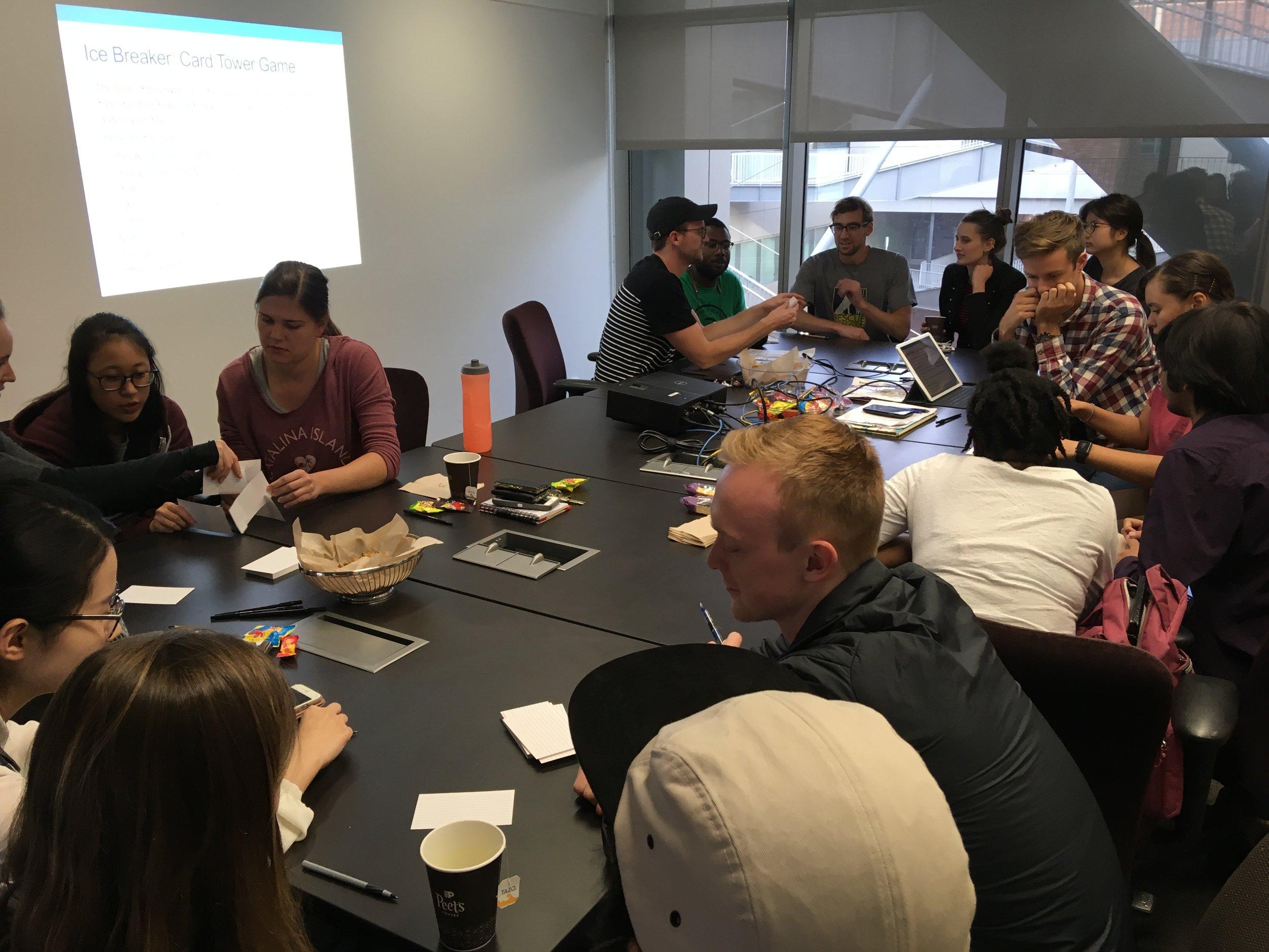 November 1, 2018: Team Science Training