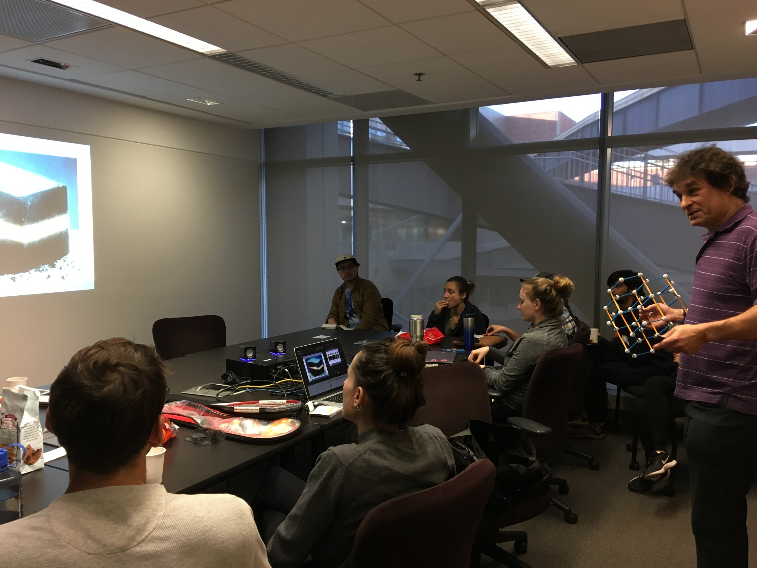 "January 24, 2019: Brown Bag Seminar on ""Presentation Skills"" with Dr. Ric Kaner"