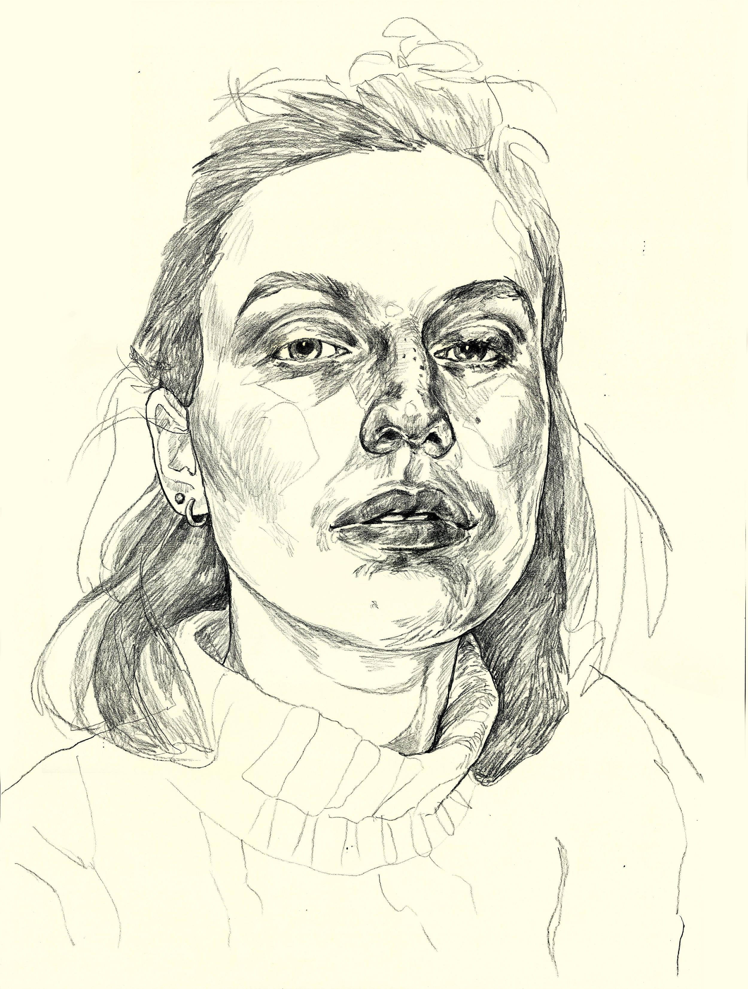 Self Portrait, Cream