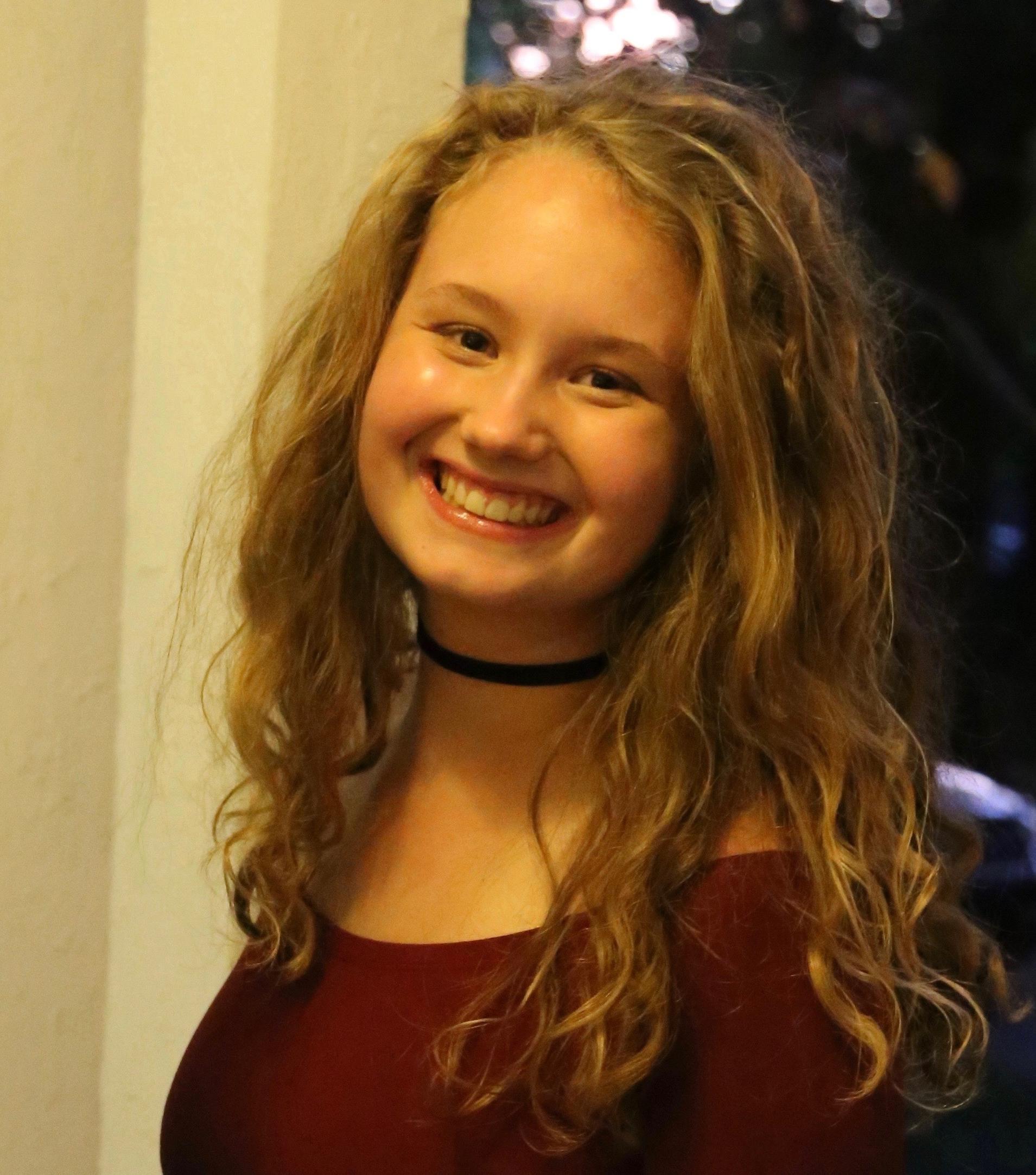 Annabelle Miller - Ursuline Junior, Student Lead Organizer