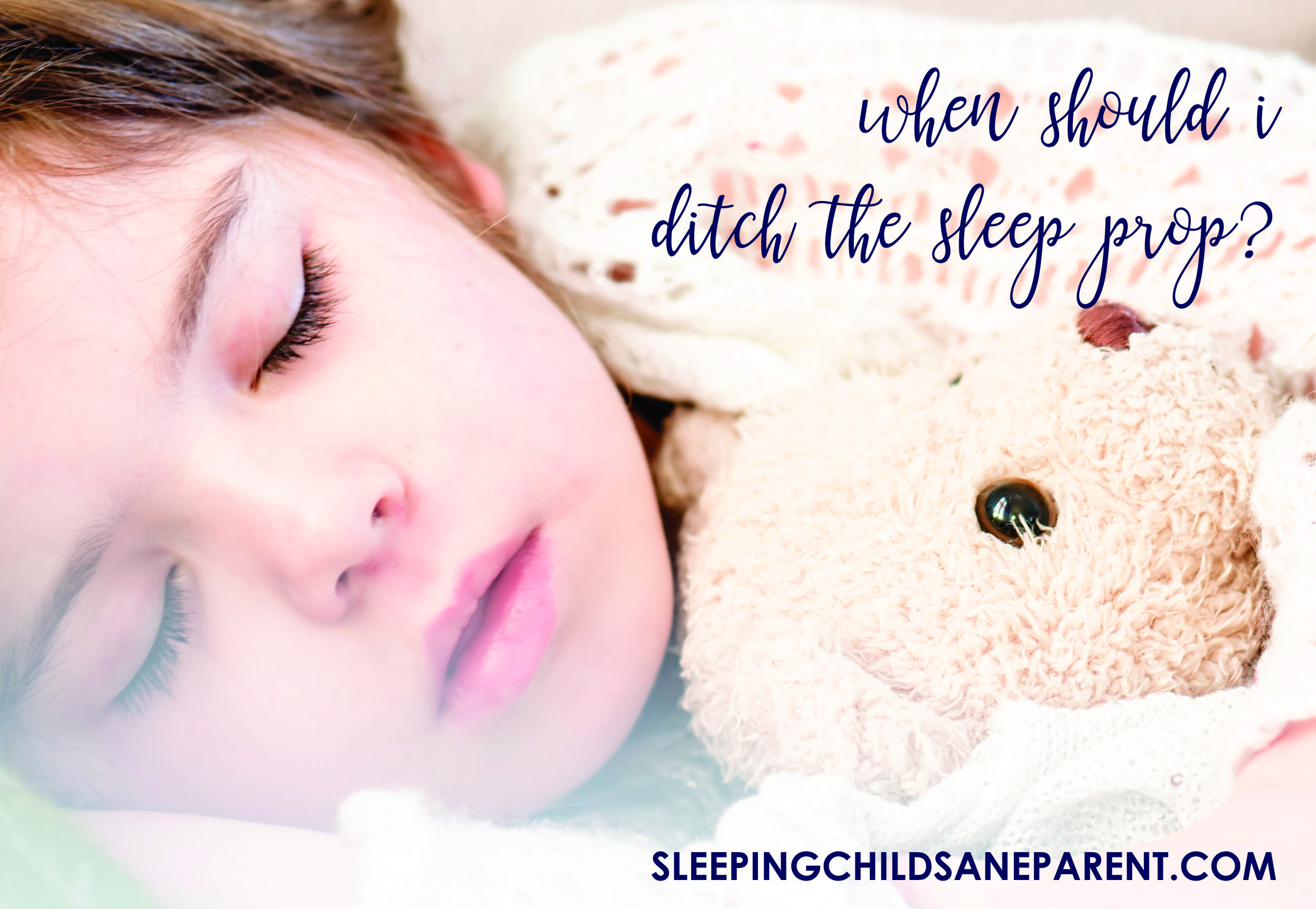 Sleep props are a huge factor when it comes to sleeping through the night or sleeping for an entire nap. Theseprops can be a blessing or a curse -- a blessing when they work and a curse when they don't! Check out this blog post to find out if it's the right time to ditch that sleep prop.
