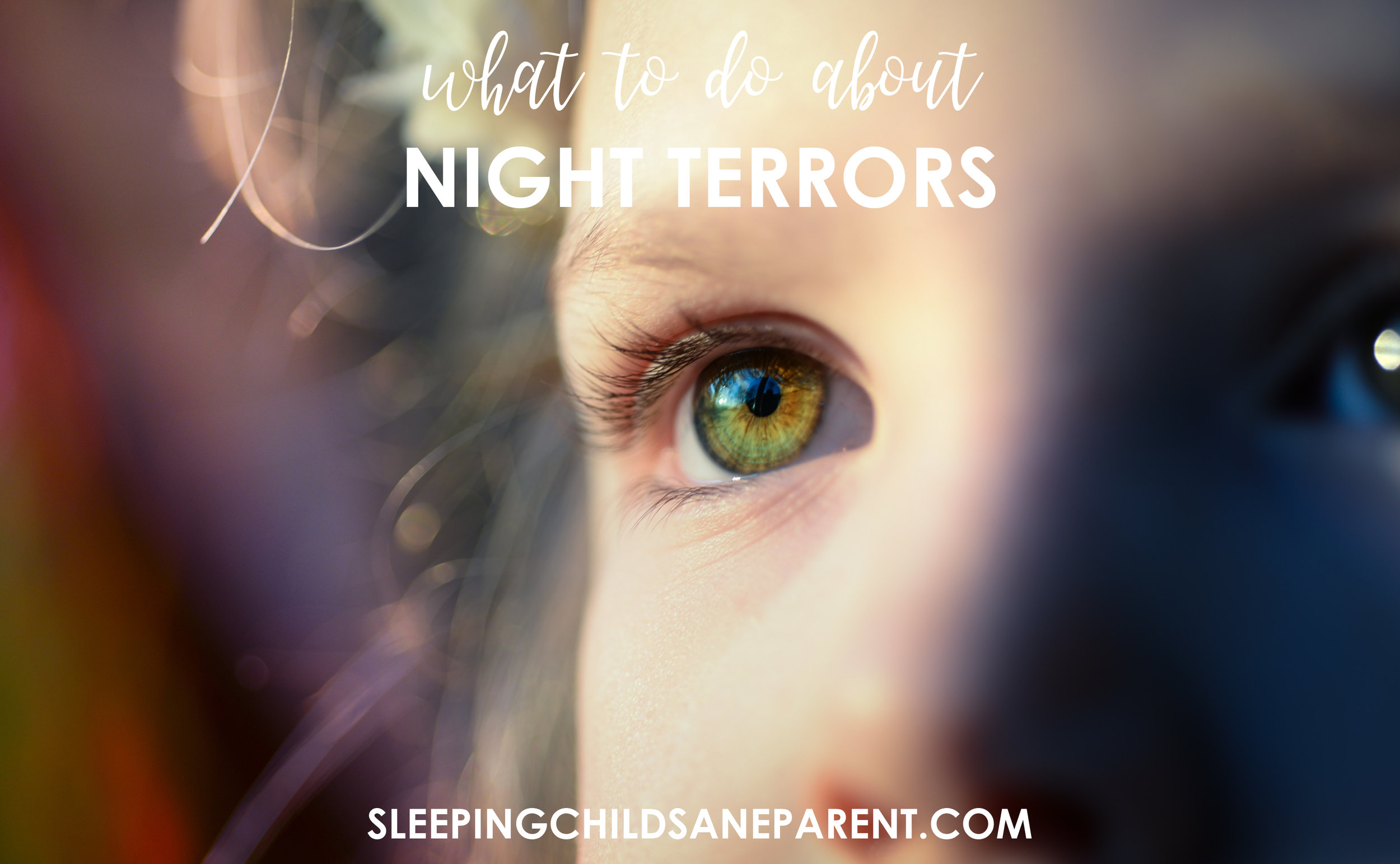 Is your child having a nightmare or a night terror? If it's a night terror, how can you make it stop?! Check out this blog post for tips about how to put those night terrors to bed.