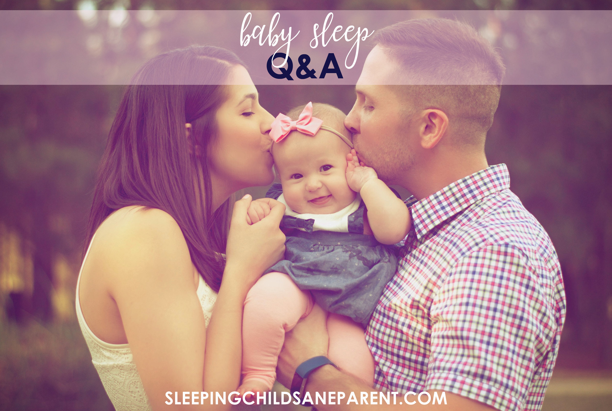 Do you have questions about baby sleep? Check out this post for questions and answers about dream feeds, bouncing Baby to sleep, teething, prolonged nightwakings, or dropping night feeds.