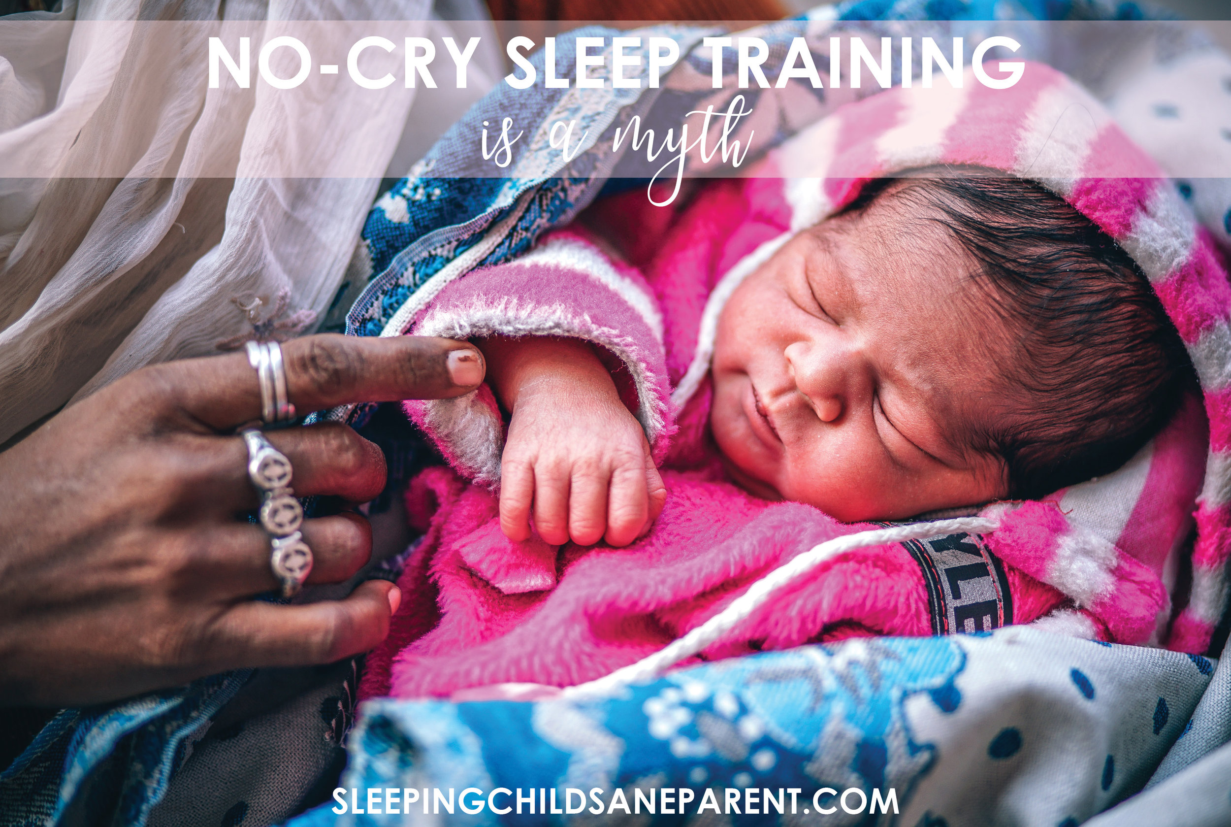 There's NO SUCH THING as no-cry sleep training, but this extra-gentle method is the closest you can get!