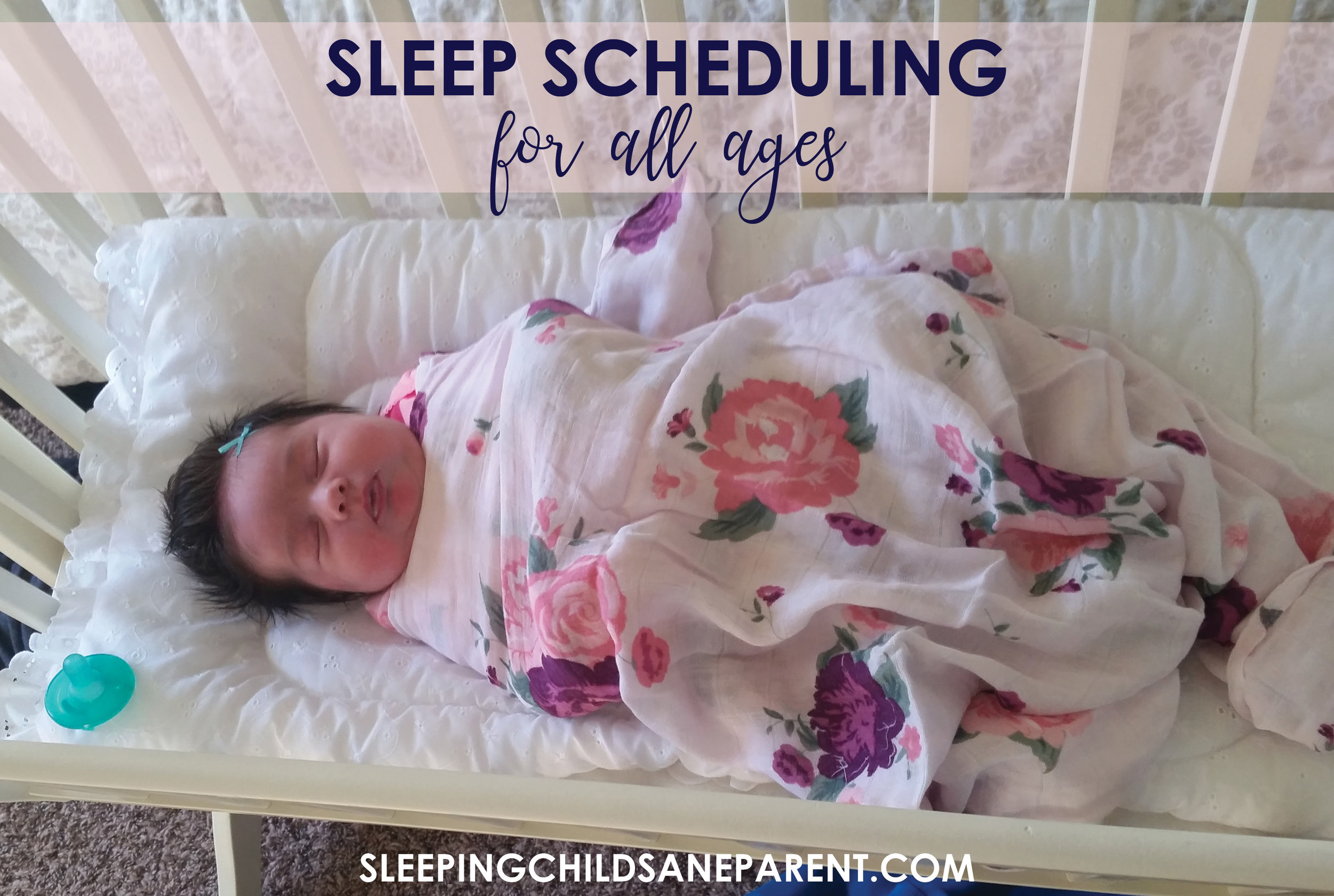 Check out this one simple blog post with links to popular posts about scheduling, bedtime, and sleeping through the night!
