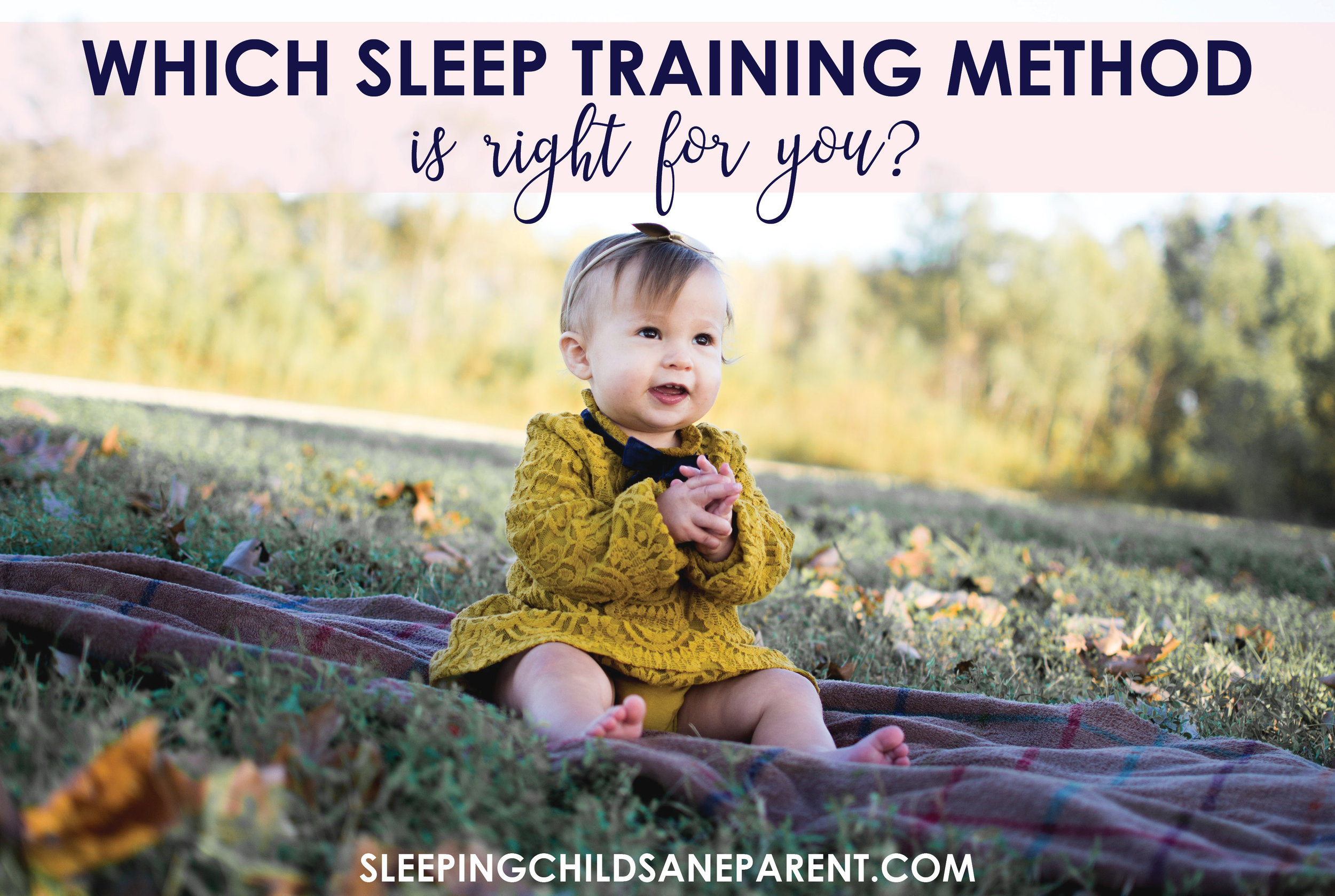 Feeling overwhelmed by all the sleep training options? Check out this post to figure out which one is the best fit for YOUR family.