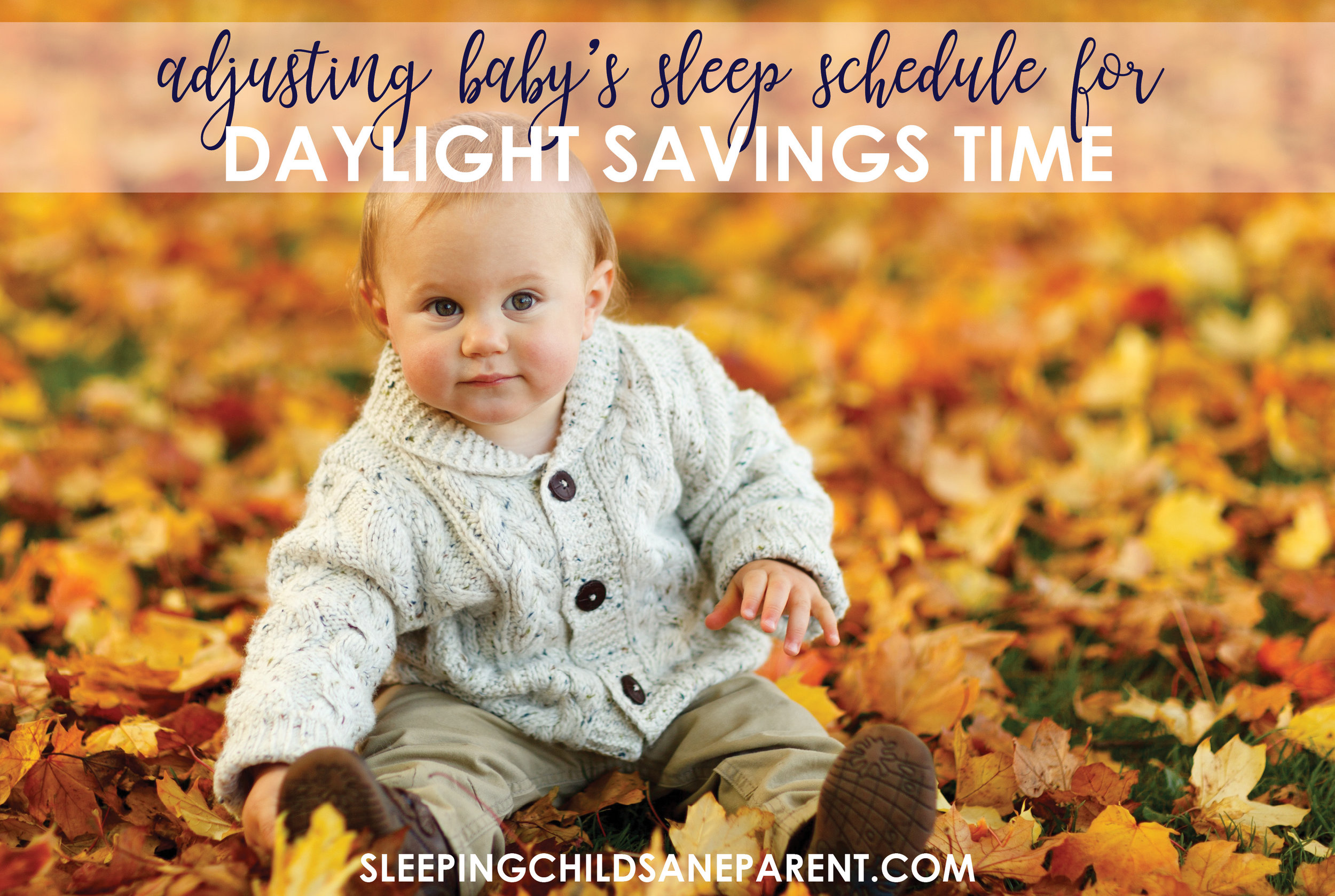 When the hours on the clock fall back, that doesn't mean you have to fall over as your little one's sleep falls apart. Check out these tips so that Baby can adjust to Daylight Savings without skipping a beat!