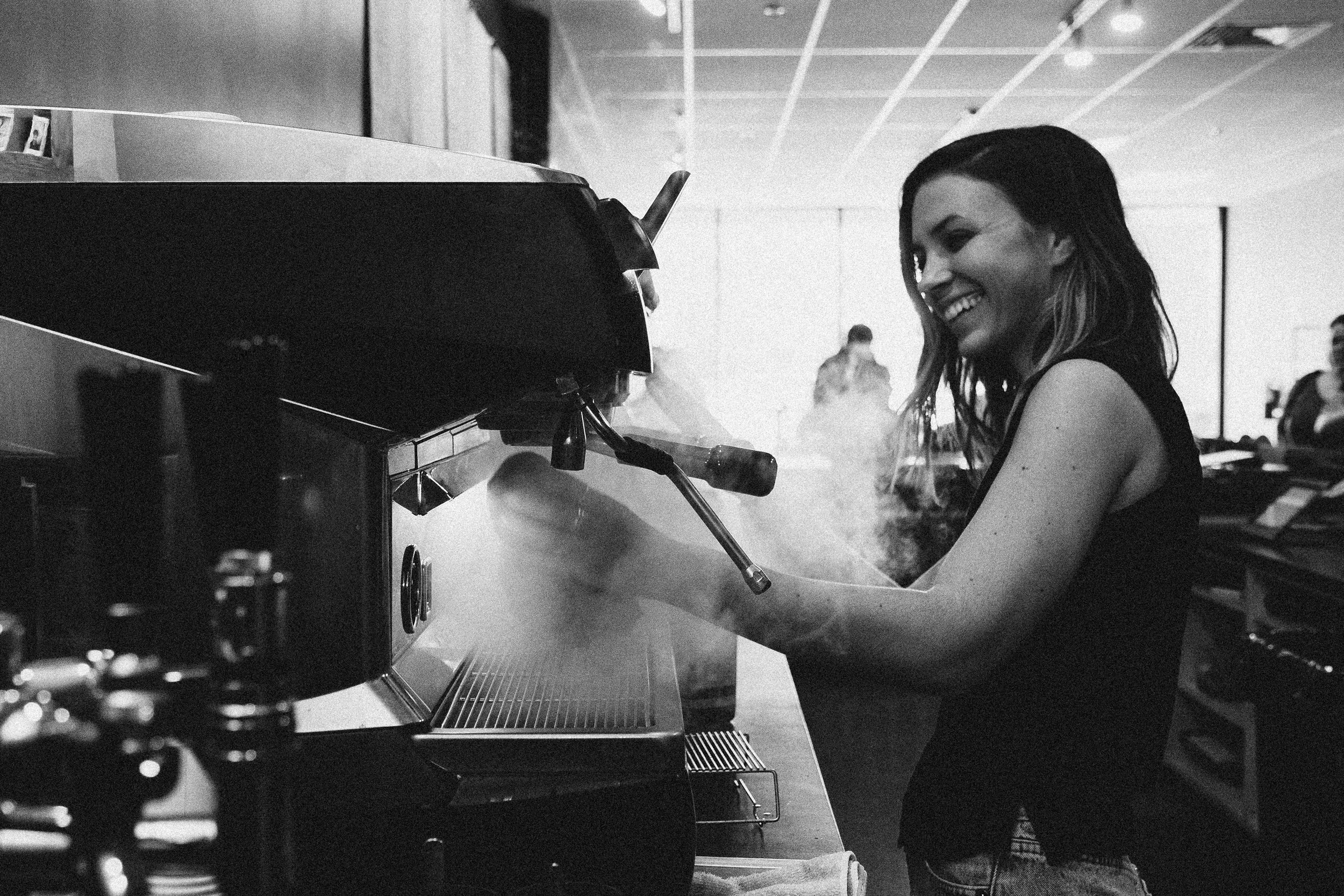 Who? - The ideal barista is someone who's self disciplined & truly committed in working with quality products, but most importantly, providing guests with great hospitality.Previous experience not necessary, but preferred. What matters most to us is who you are—a strong sense of self & a high standard of excellence. The tangible things can be taught.