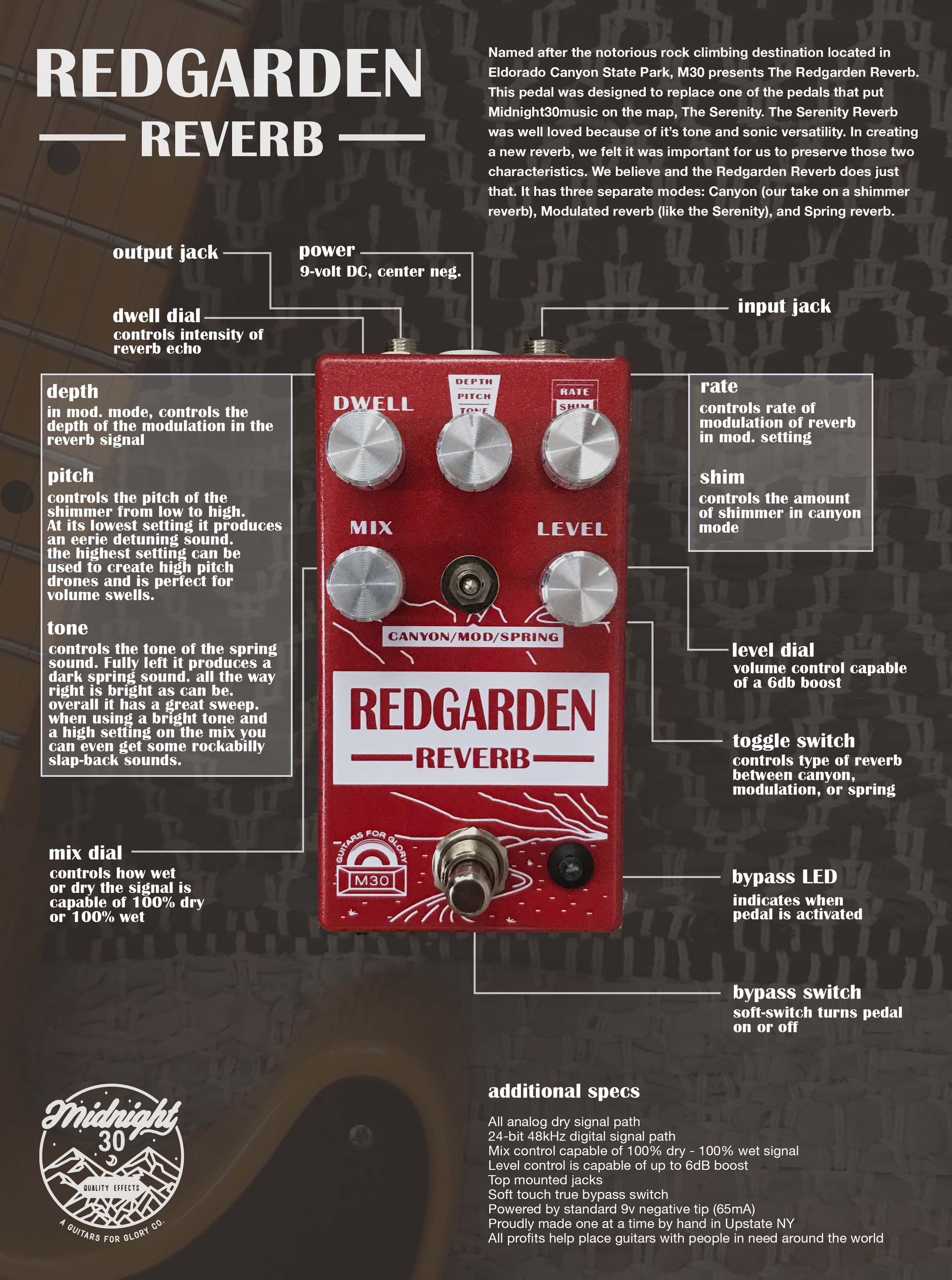 Redgarden Reverb Manual