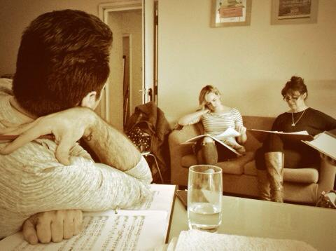 Rehearsal Photo from  Picture Perfect  (London)